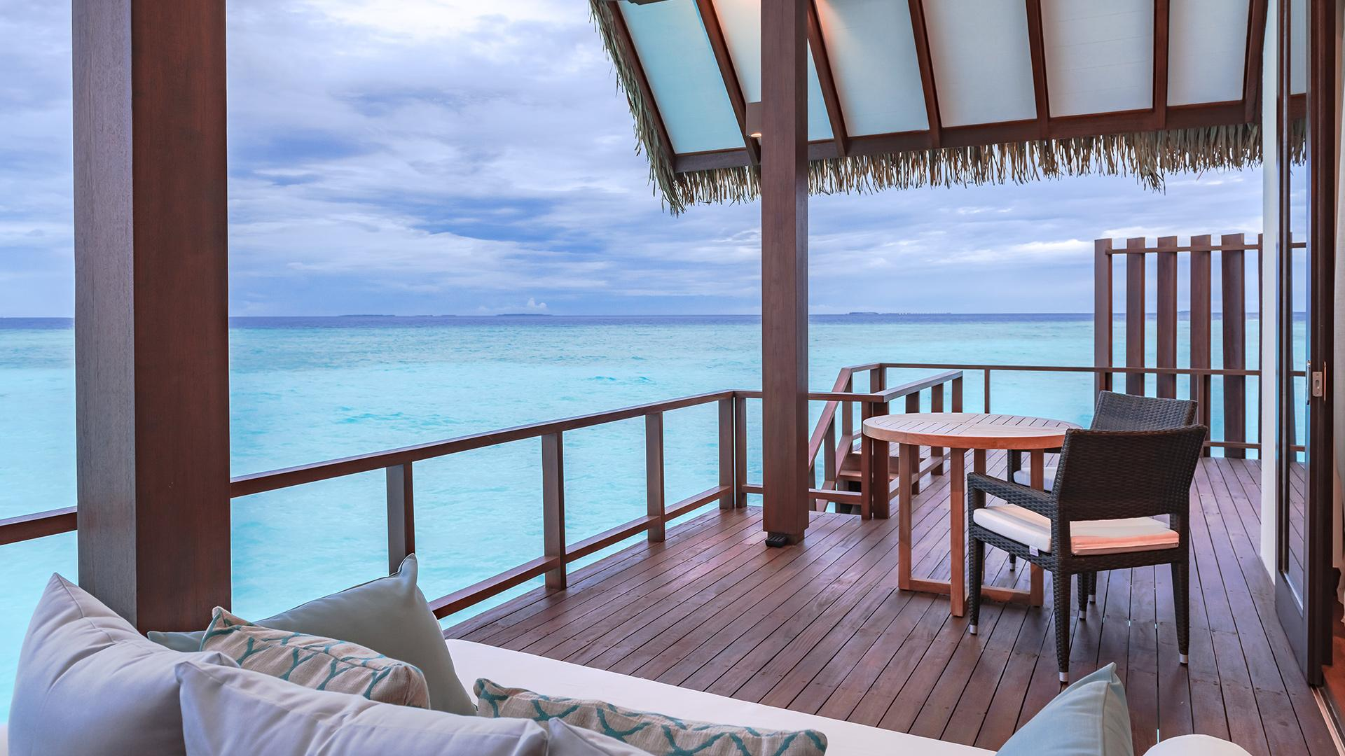 Ocean Villa Sunset image 1 at Heritance Aarah by null, North Province, Maldives