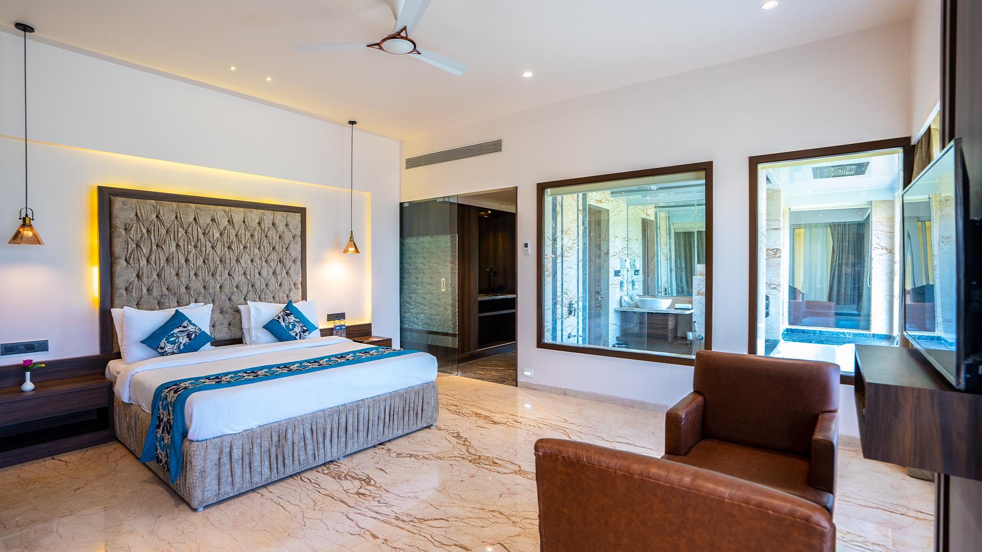 Suite image 1 at Tropical Retreat Luxury Resort & Spa by Nashik, Maharashtra, India
