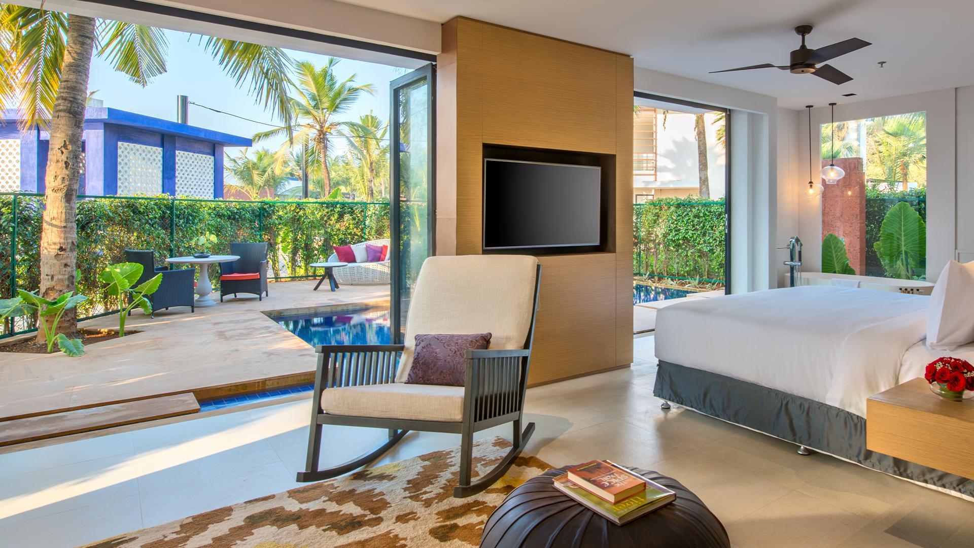Essence Plunge Pool Room image 1 at Azaya Beach Resort by South Goa, Goa, India