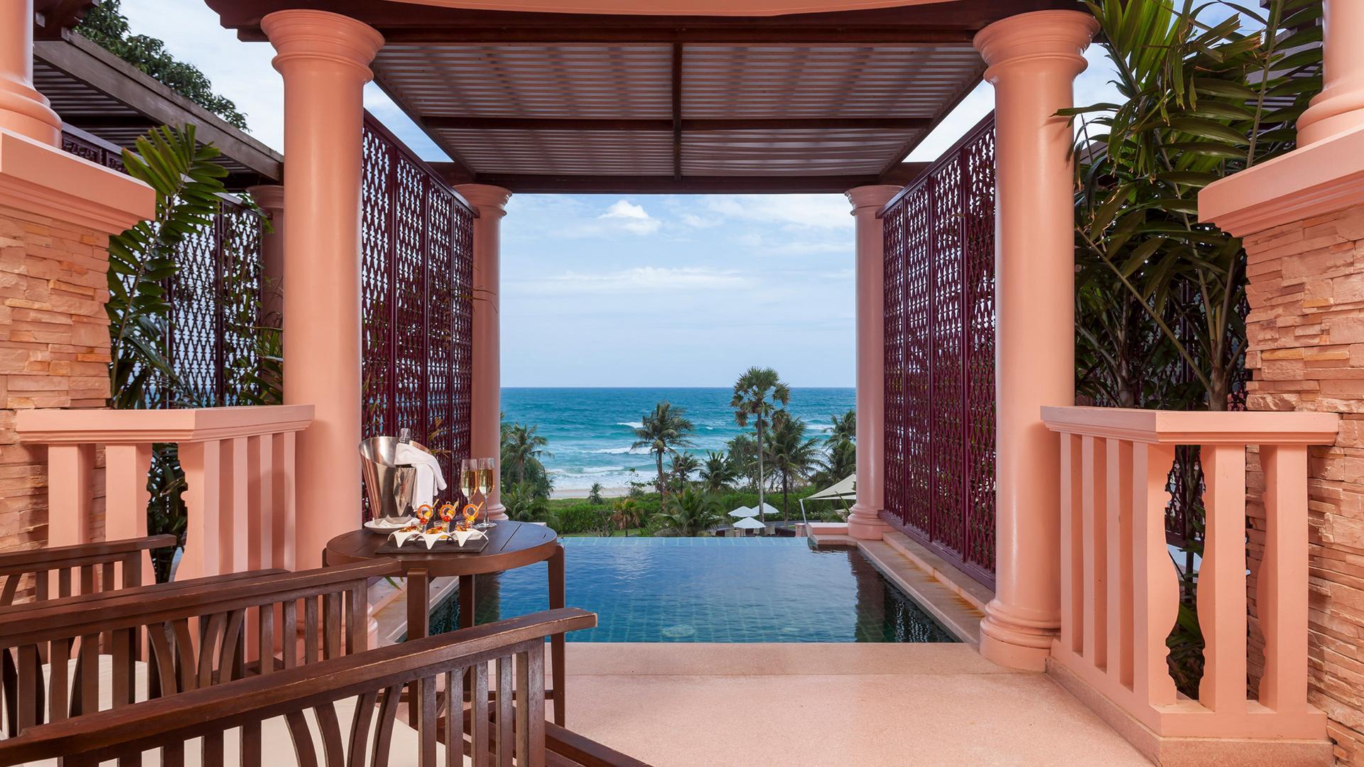 Deluxe Pool Suite image 1 at Centara Grand Beach Resort Phuket by อำเภอเมืองภูเก็ต, Phuket, Thailand