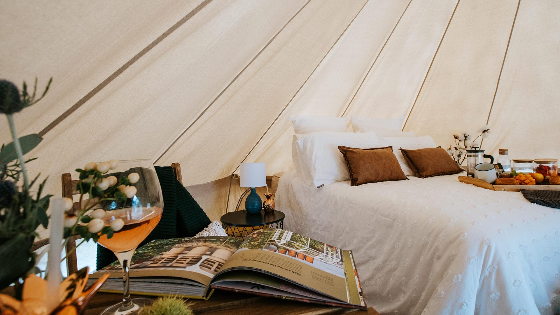Bell Tent image 1 at Mansfield Glamping by Mansfield Shire, Victoria, Australia