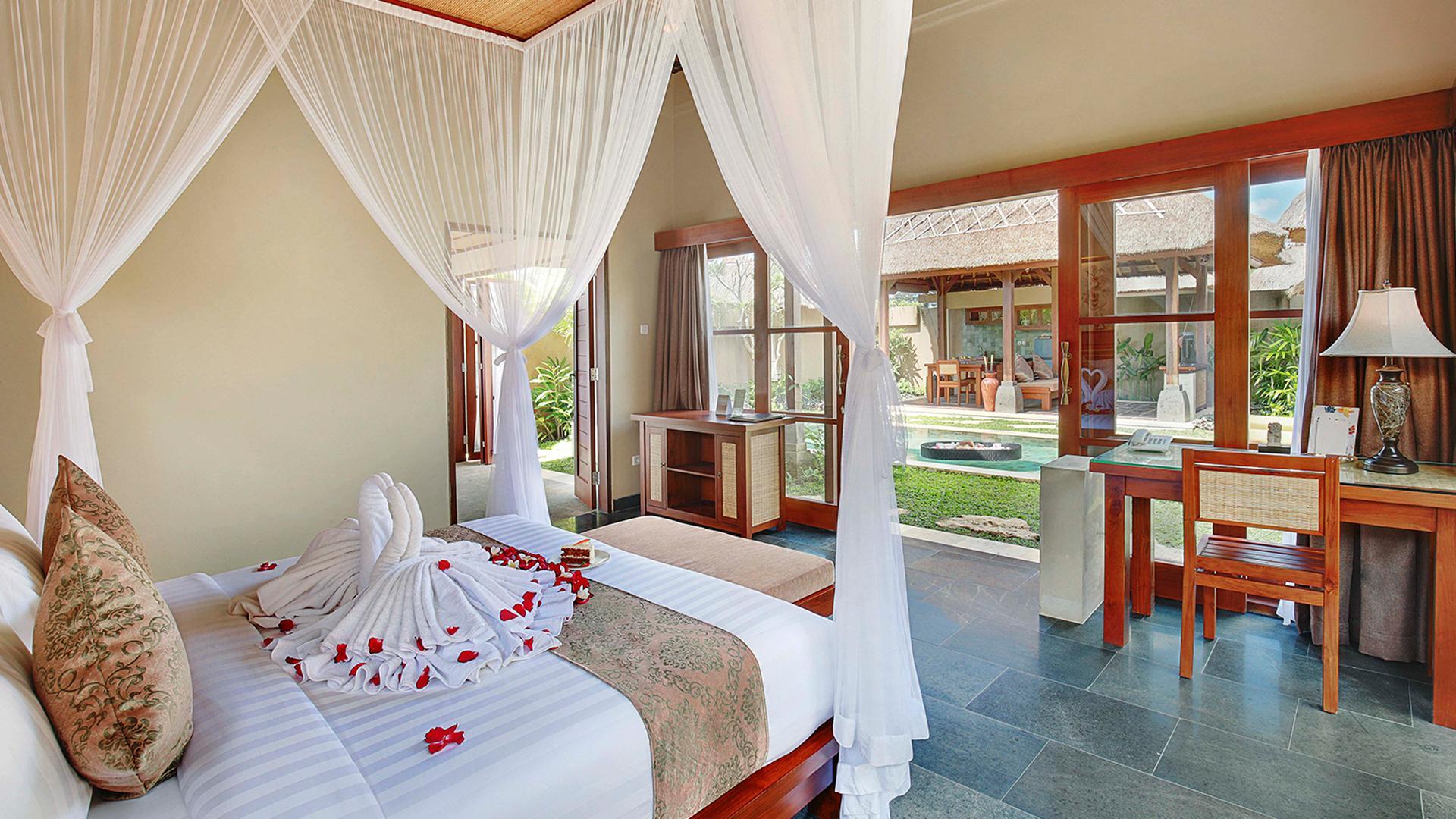 Honeymoon Suite Pool Villa image 1 at Ubud Nyuh Bali Resort & Spa - Older by Kabupaten Gianyar, Bali, Indonesia