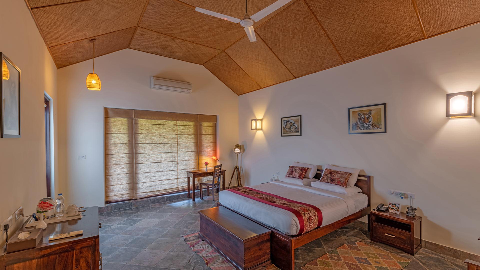 Regal Room image 1 at Ranthambhore Kothi by Sawai Madhopur, Rajasthan, India