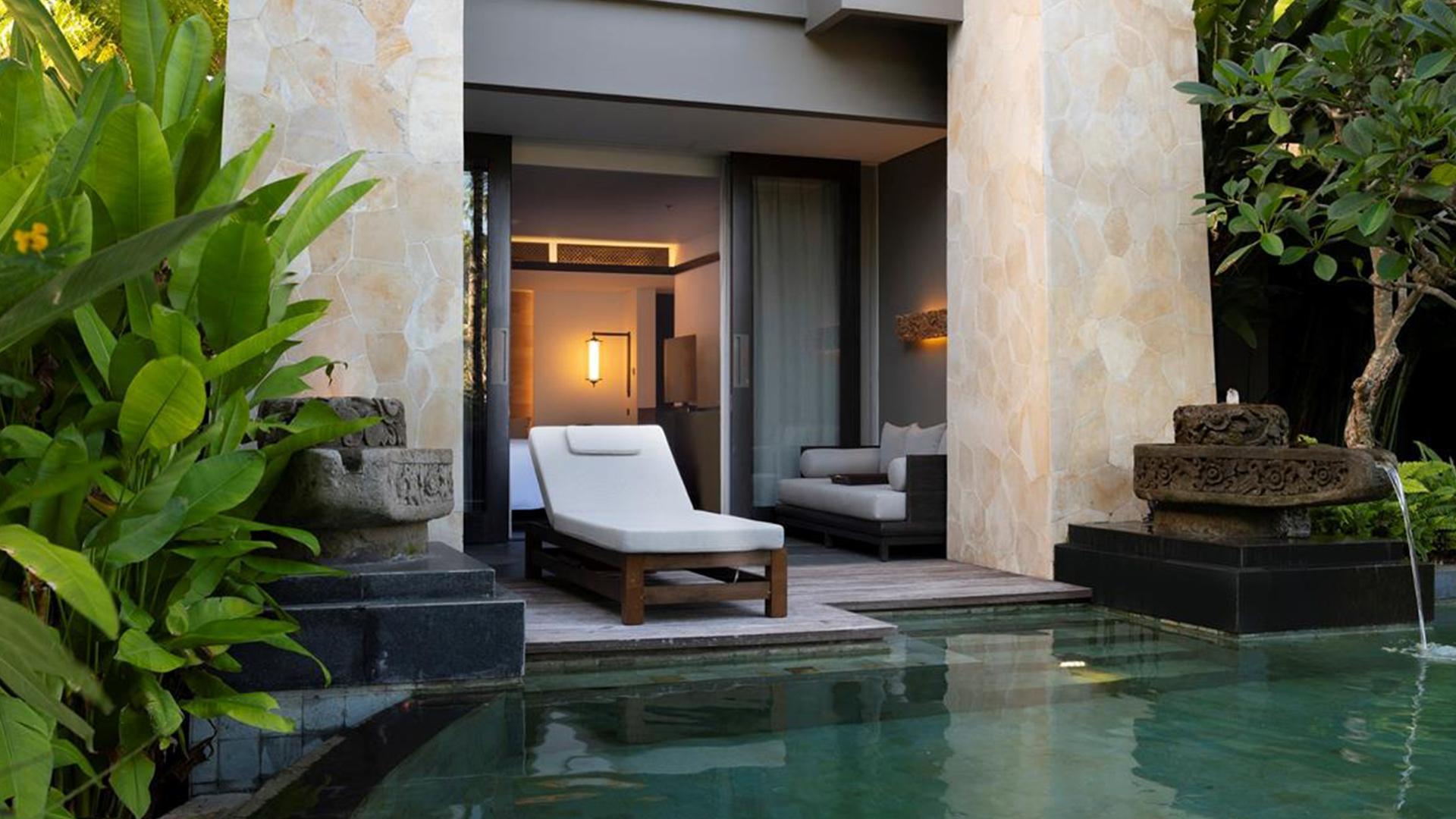 Grand Deluxe Lagoon Room image 1 at The Apurva Kempinski Bali by Kabupaten Badung, Bali, Indonesia
