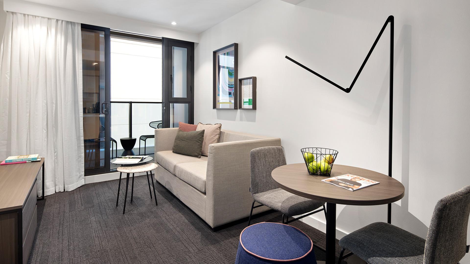 One-Bedroom Apartment image 1 at Quest St Kilda Road by Port Phillip City, Victoria, Australia