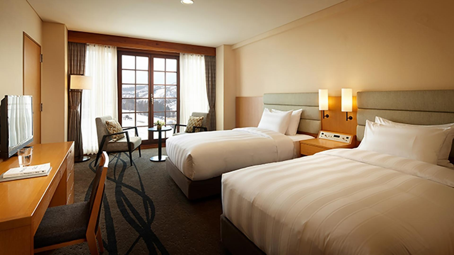 Superior Twin Room image 1 at Lotte Arai Resort by null, Niigata, Japan
