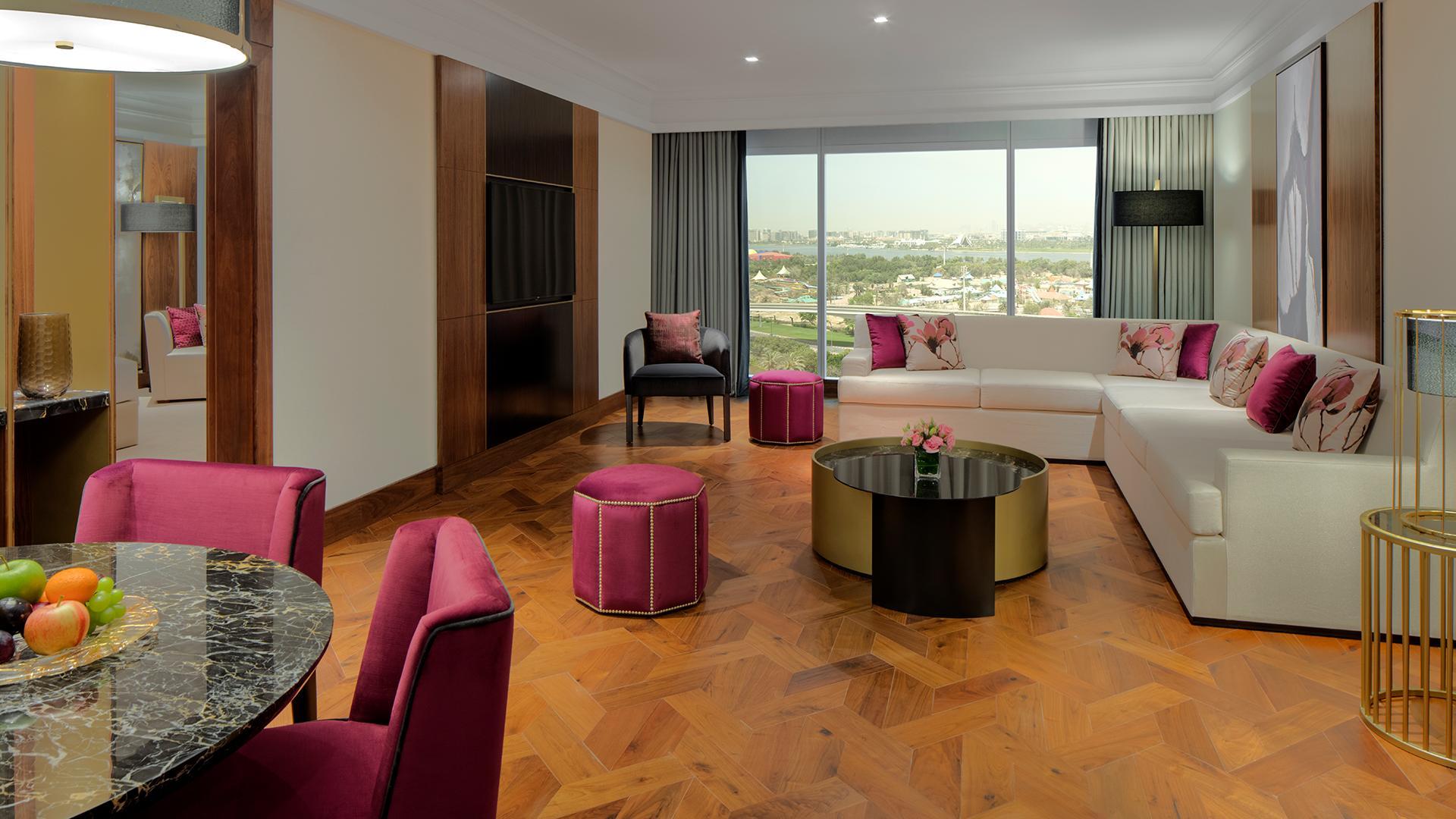 1 Bedroom Grand Suite with Garden View image 1 at Grand Hyatt Dubai by null, Dubai, United Arab Emirates