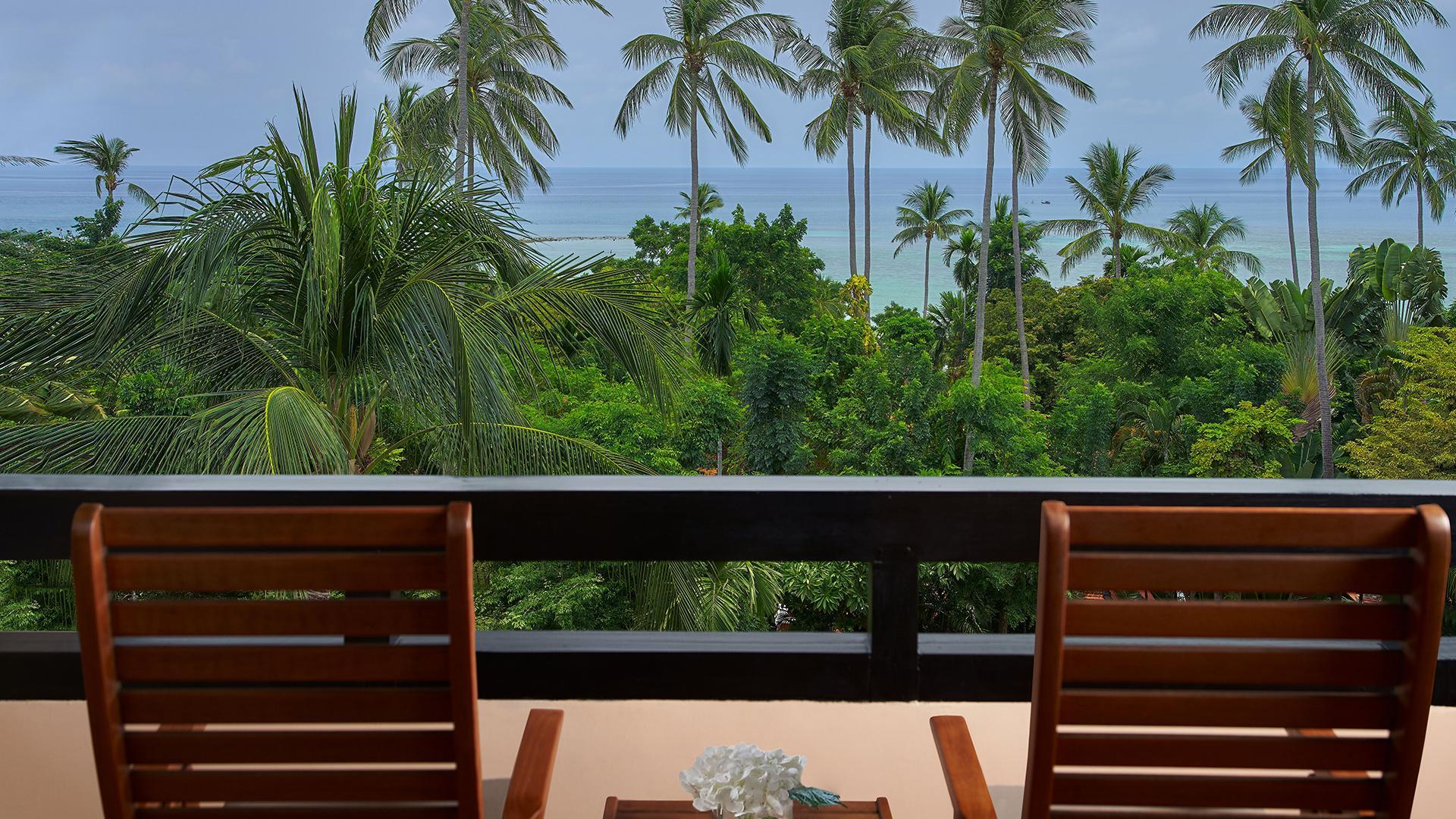 Deluxe Sea-View Room image 1 at Renaissance Koh Samui Resort & Spa by Amphoe Ko Samui, Chang Wat Surat Thani, Thailand
