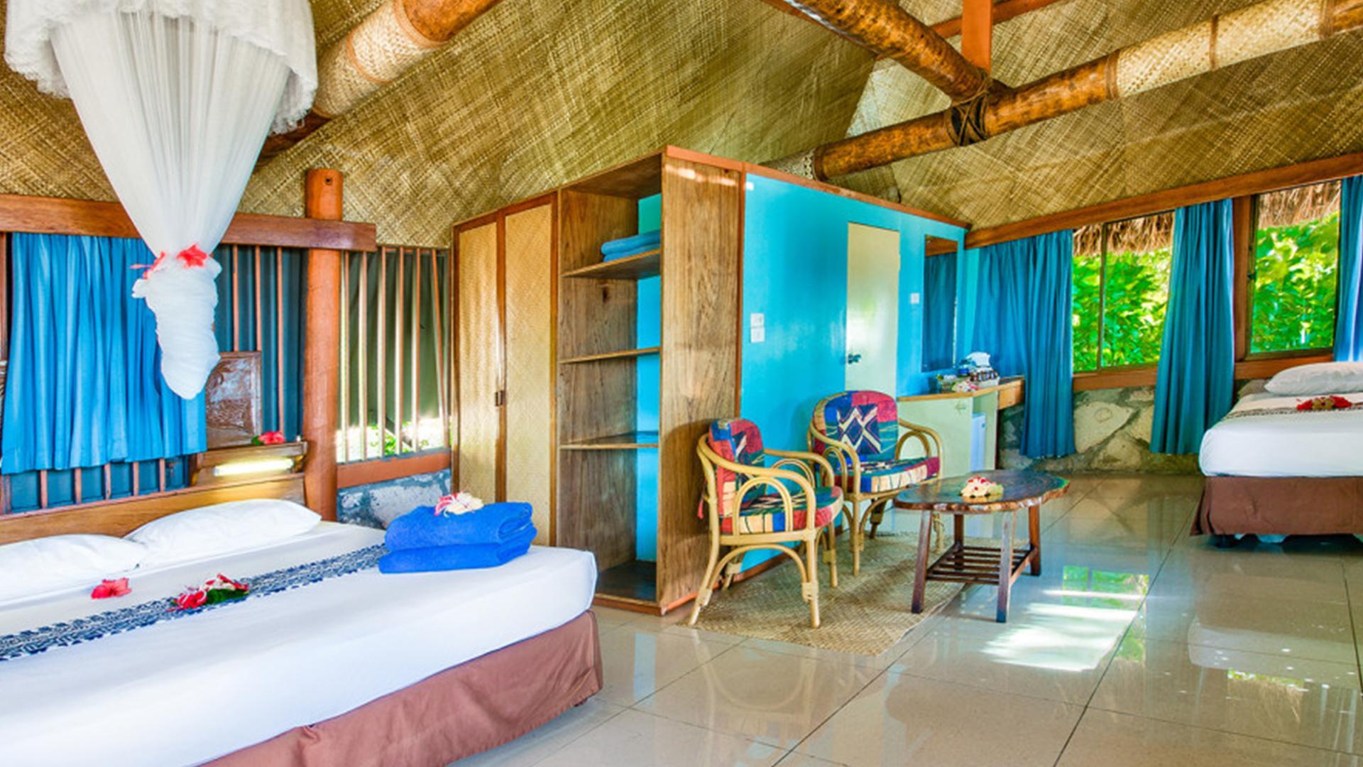Beachfront Bure image 1 at Beachcomber Island Resort by null, null, Fiji