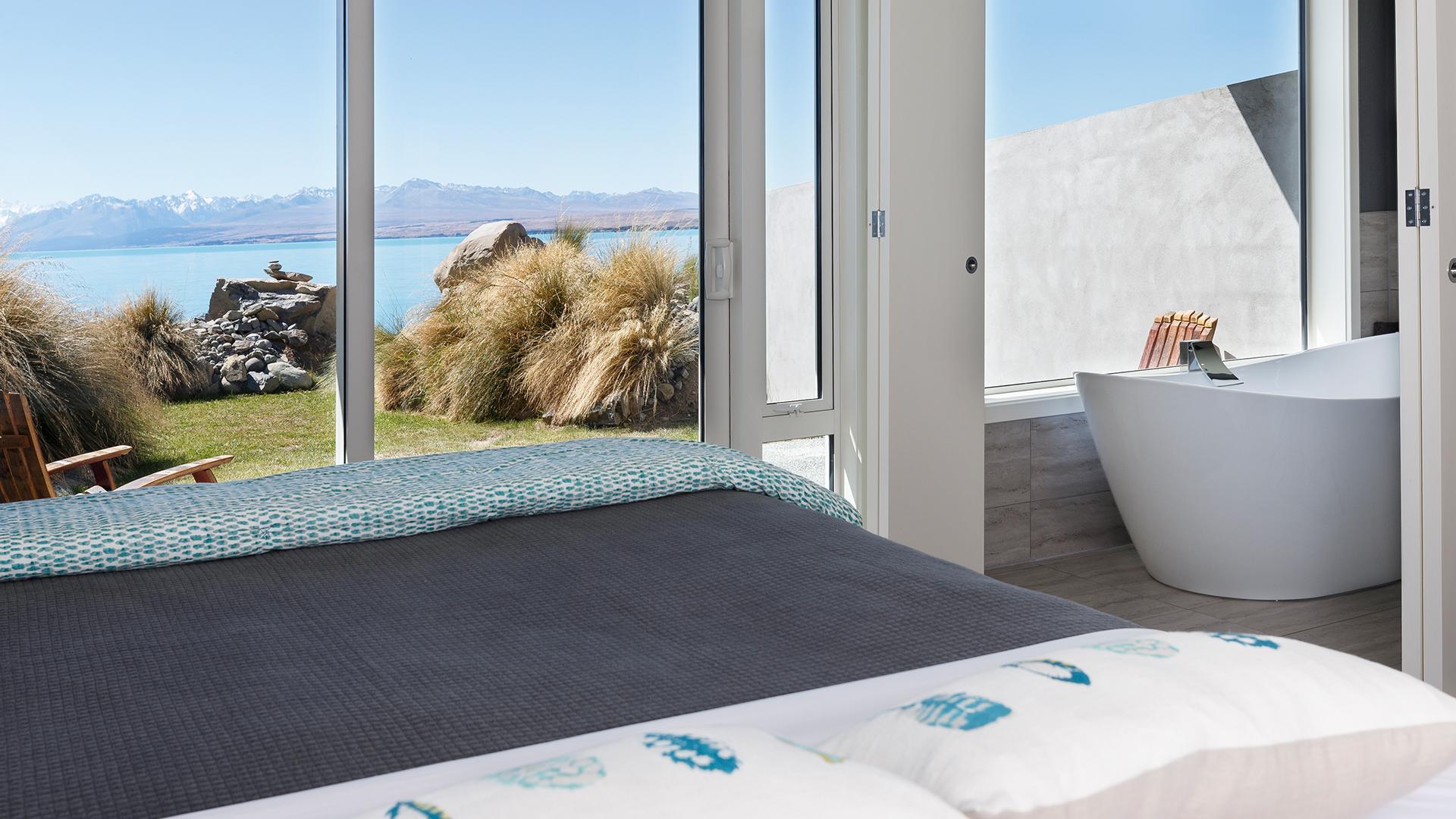 Lake-View Room image 1 at Lakestone Lodge by null, Canterbury, New Zealand