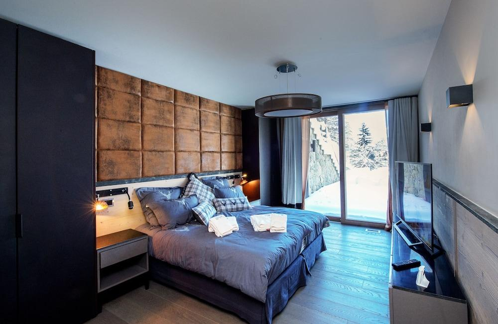 image 1 at Chalet Migui Luxury Living and SPA by 6 rue du Petit Vallon Lens 3963 Switzerland