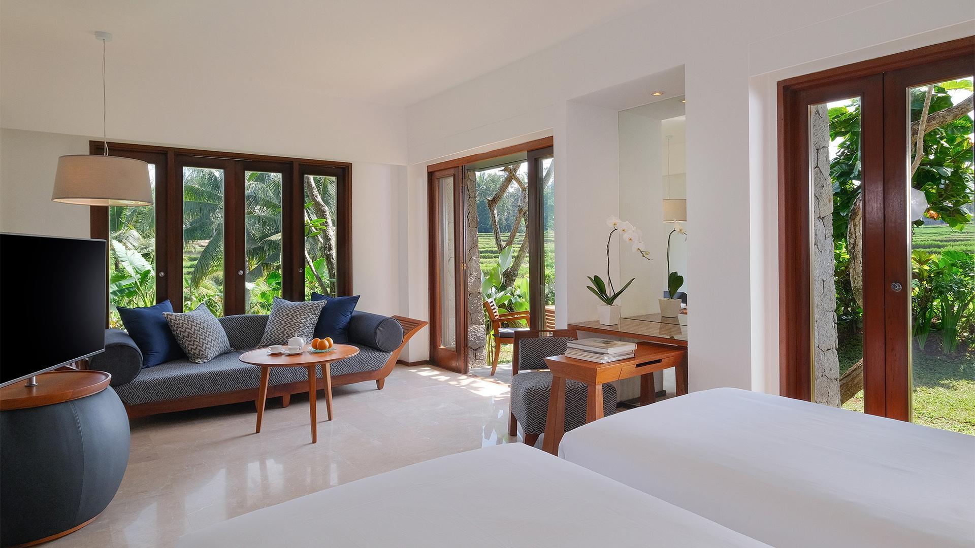 Impressive Forest Corner Suite image 1 at Maya Ubud Resort & Spa by Kabupaten Gianyar, Bali, Indonesia
