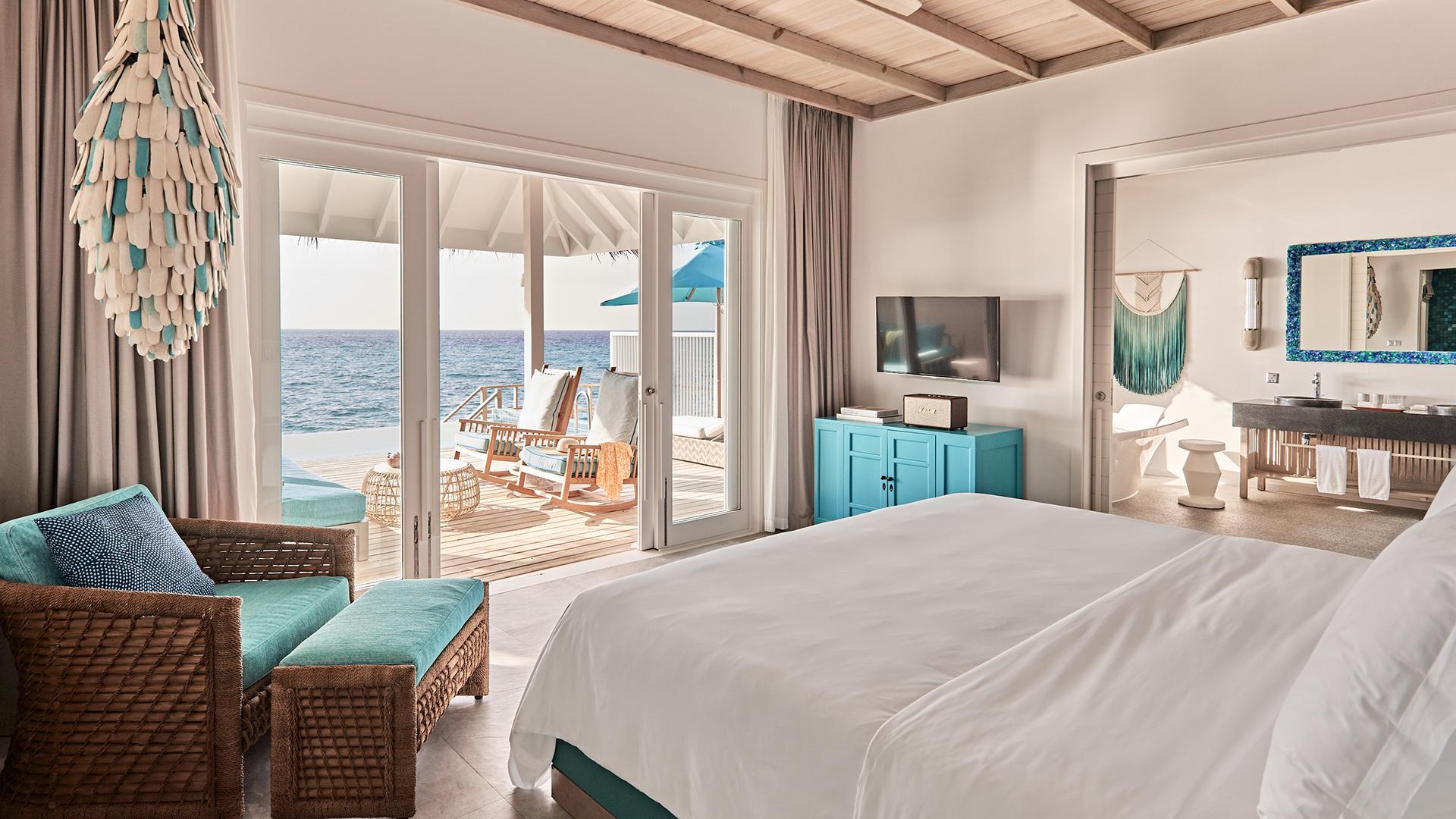 Ocean Pool Villa image 1 at Seaside Finolhu Maldives by Baa Atoll, North Province, Maldives