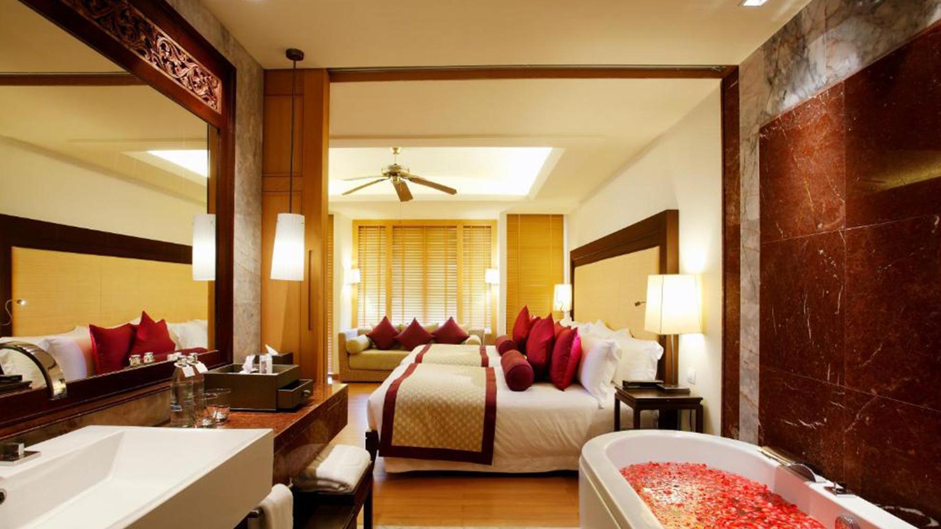 Deluxe Room image 1 at Centara Grand Beach Resort Phuket by อำเภอเมืองภูเก็ต, Phuket, Thailand