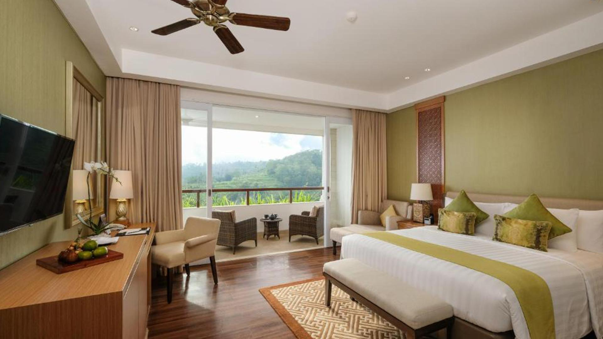 Deluxe Room image 1 at Saranam Resort & Spa by Kabupaten Tabanan, Bali, Indonesia