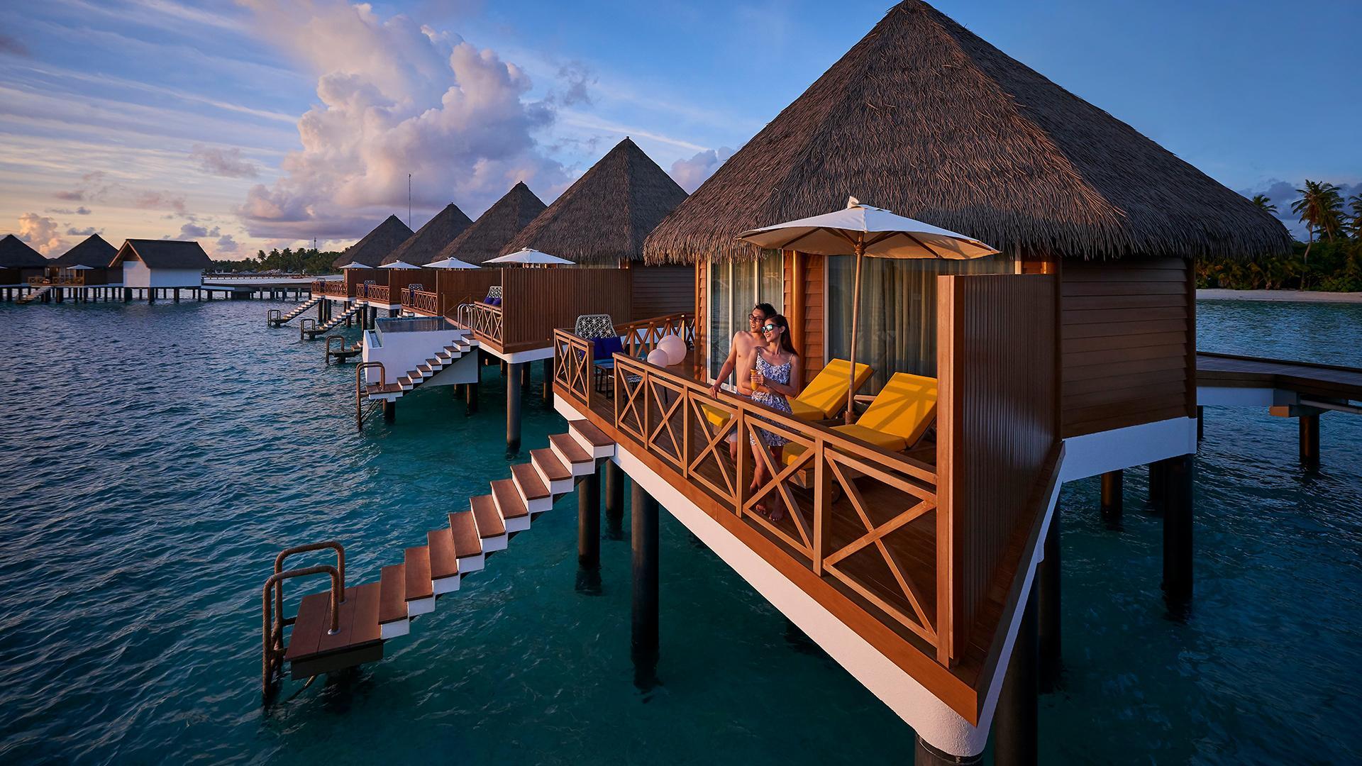 Overwater Sunset Villa image 1 at Kooddoo Maldives Resort by Mercure July 2020 by Gaafu Alifu Atoll, Upper South Province, Maldives