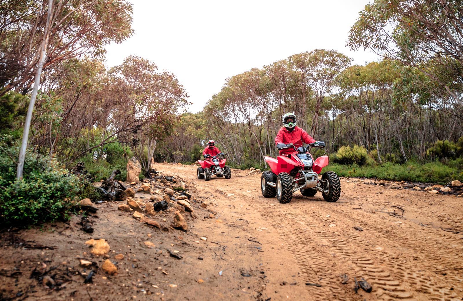 Kangaroo Island outdoor adventure quad biking