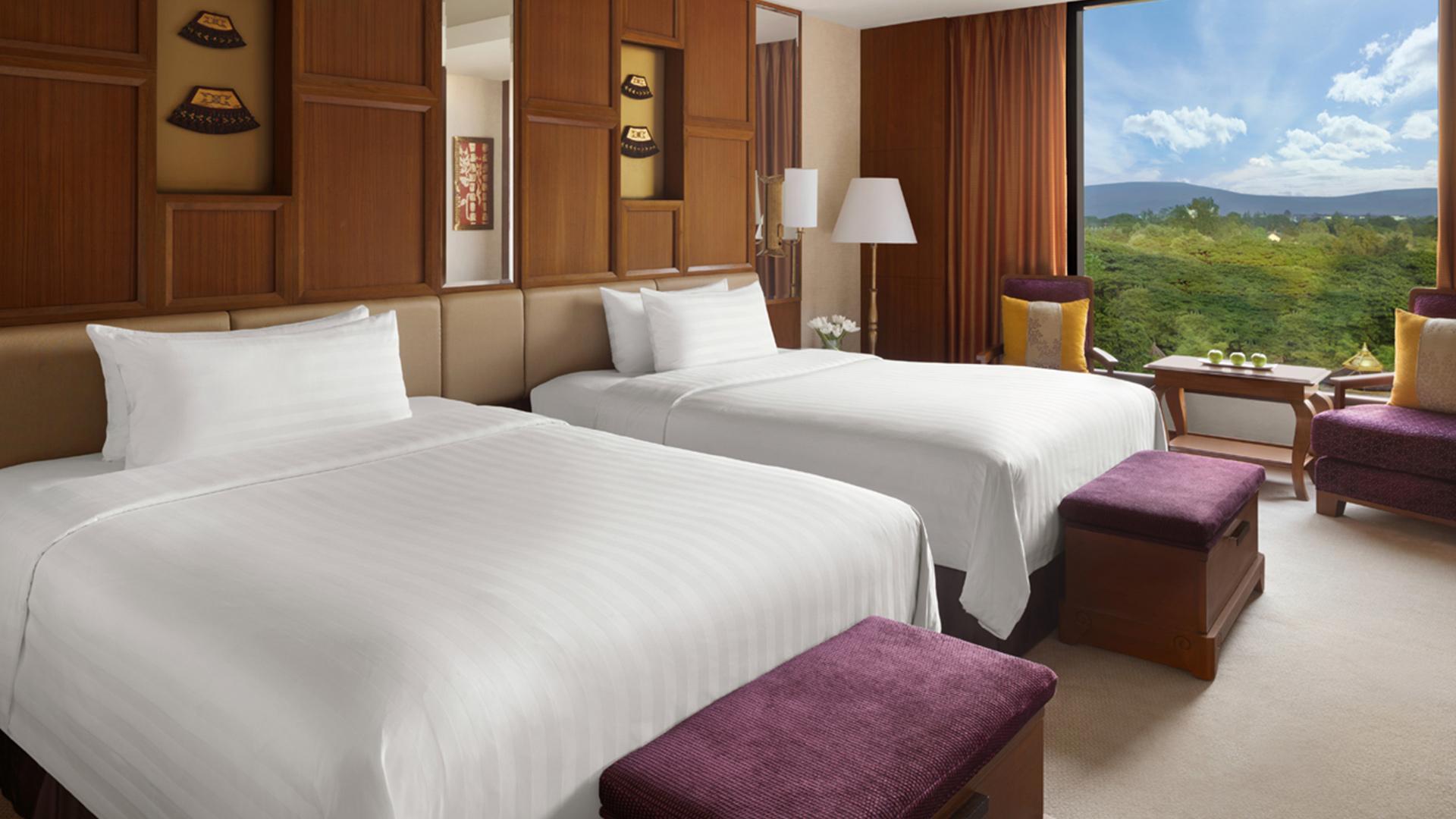 Deluxe Pool View King/Twin Room image 1 at Shangri-La Hotel, Chiang Mai by Amphoe Mueang Chiang Mai, Chang Wat Chiang Mai, Thailand