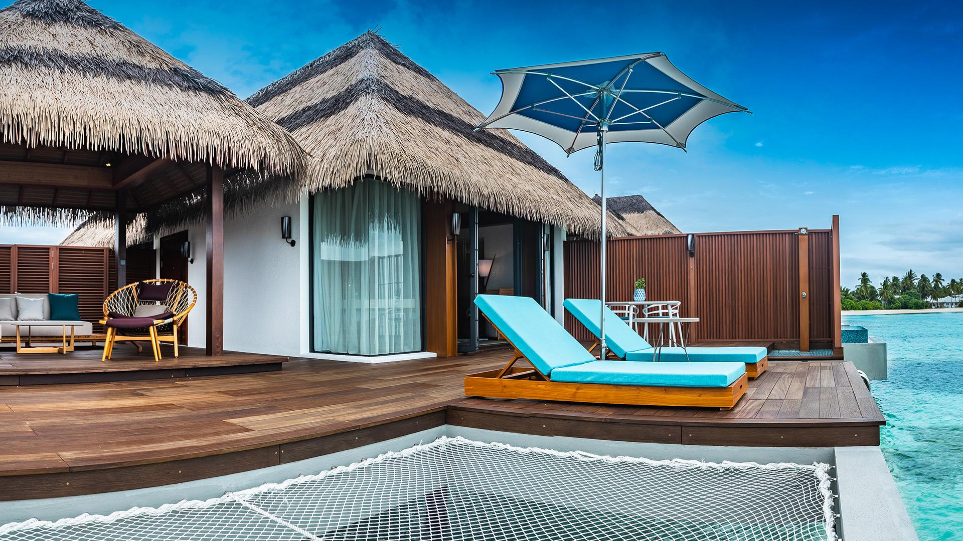 Ocean Villa image 1 at Pullman Maldives Maamutaa Resort by null, Upper South Province, Maldives