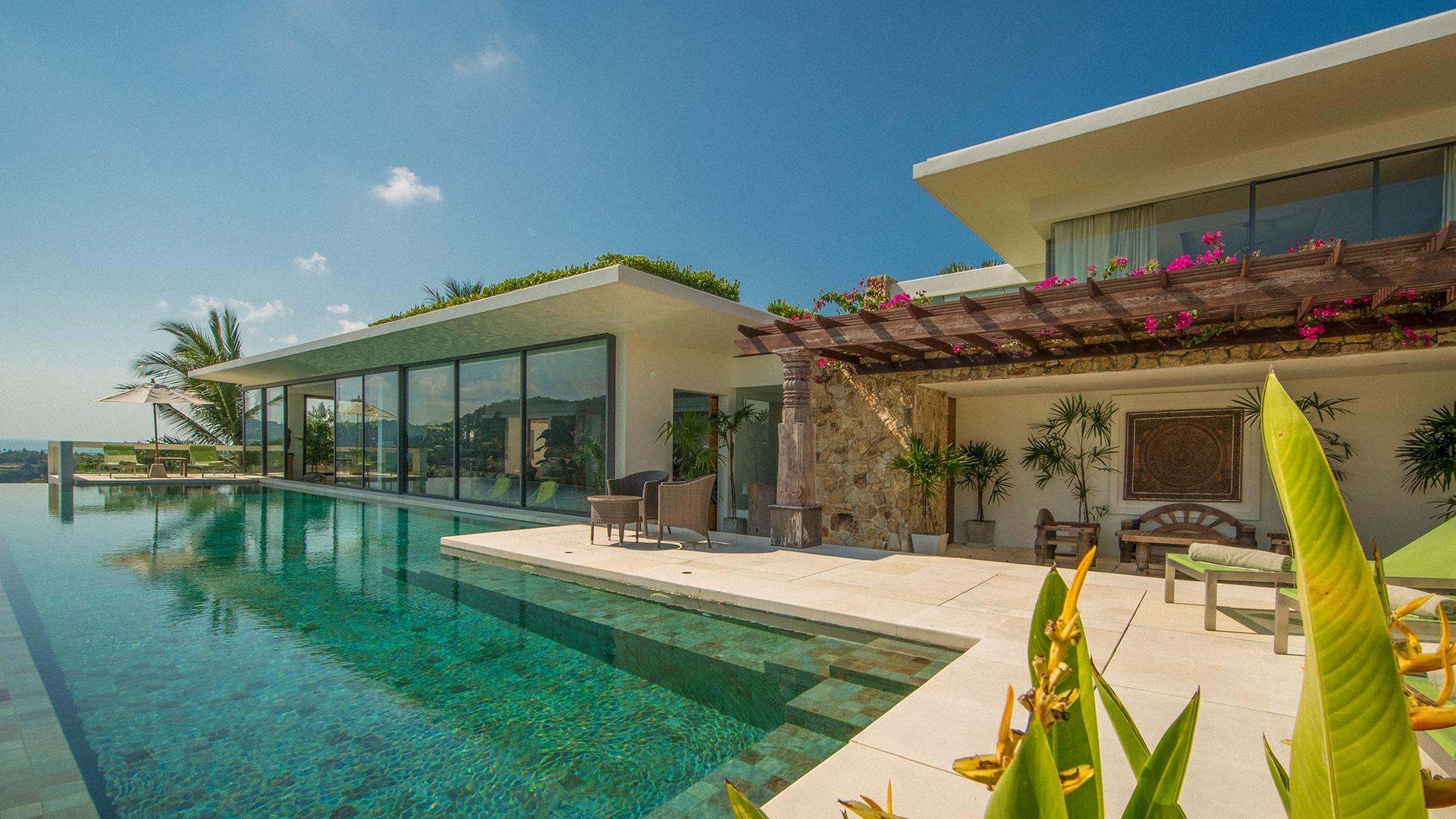 Four-Bedroom Villa image 1 at Samujana Villas by Amphoe Ko Samui, Surat Thani, Thailand
