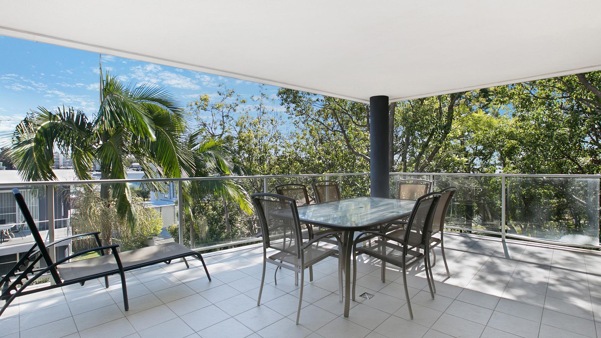 Three-Bedroom Apartment Resort View image 1 at Mantra Nelson Bay by Port Stephens Council, New South Wales, Australia