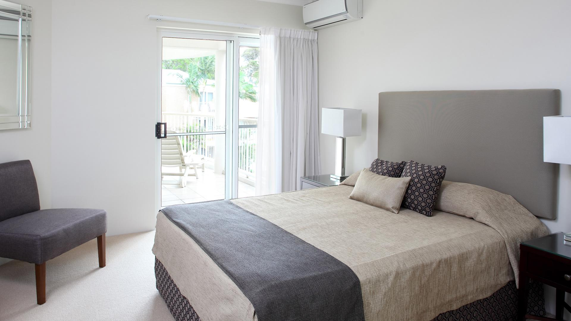 One-Bedroom Apartment  image 1 at Macquarie Lodge Apartments by Noosa Shire, Queensland, Australia