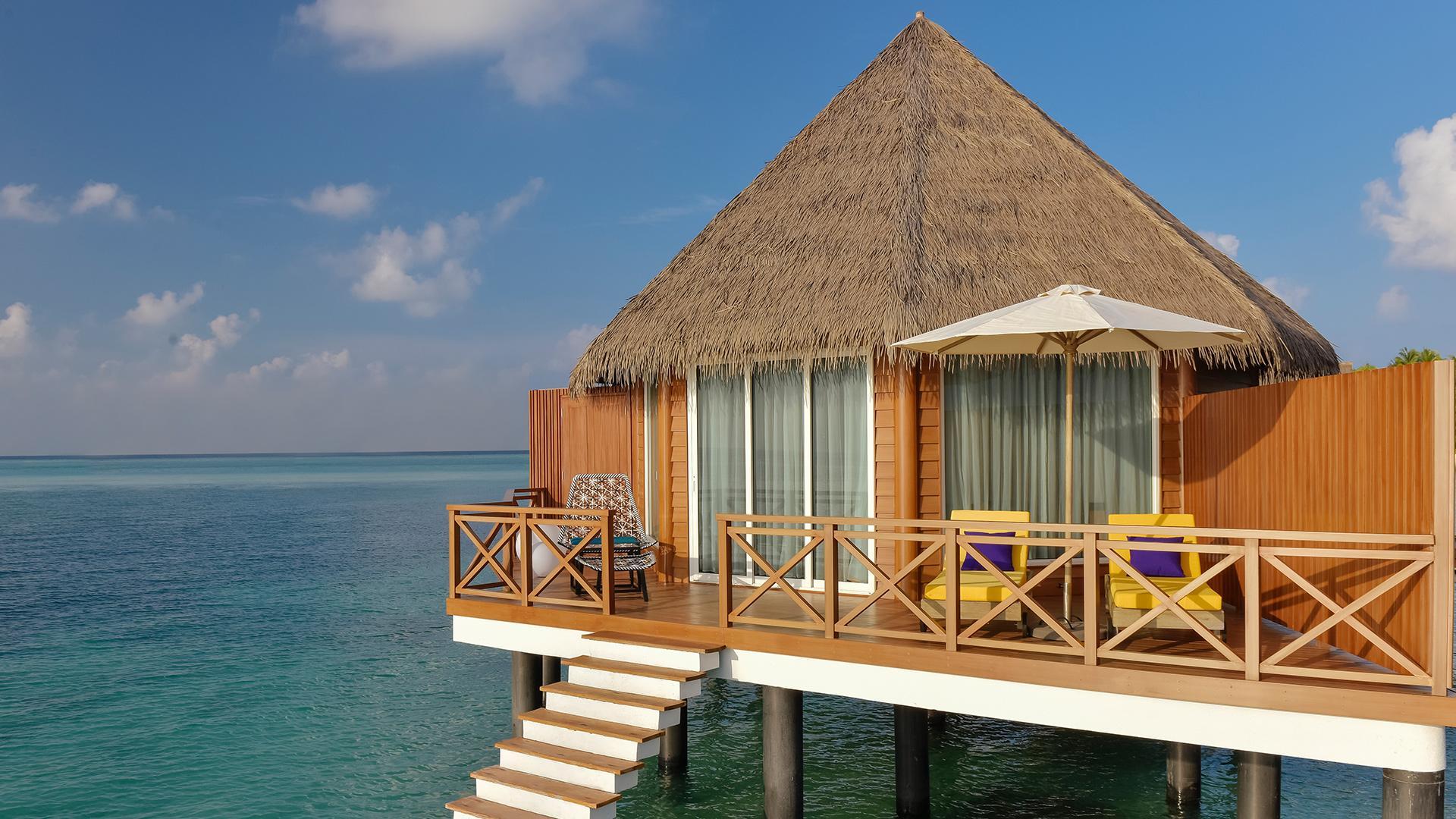 Overwater Villa image 1 at Kooddoo Maldives Resort by Mercure July 2020 by Gaafu Alifu Atoll, Upper South Province, Maldives