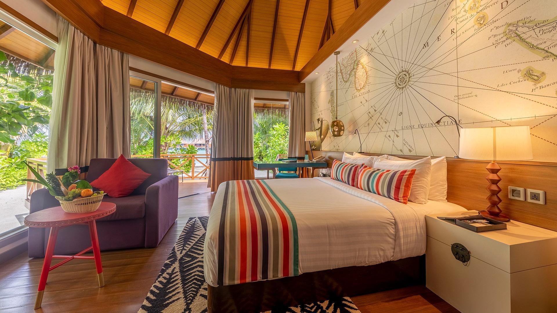 Beach Villa image 1 at Mercure Maldives Kooddoo by Gaafu Alifu Atoll, Upper South Province, Maldives