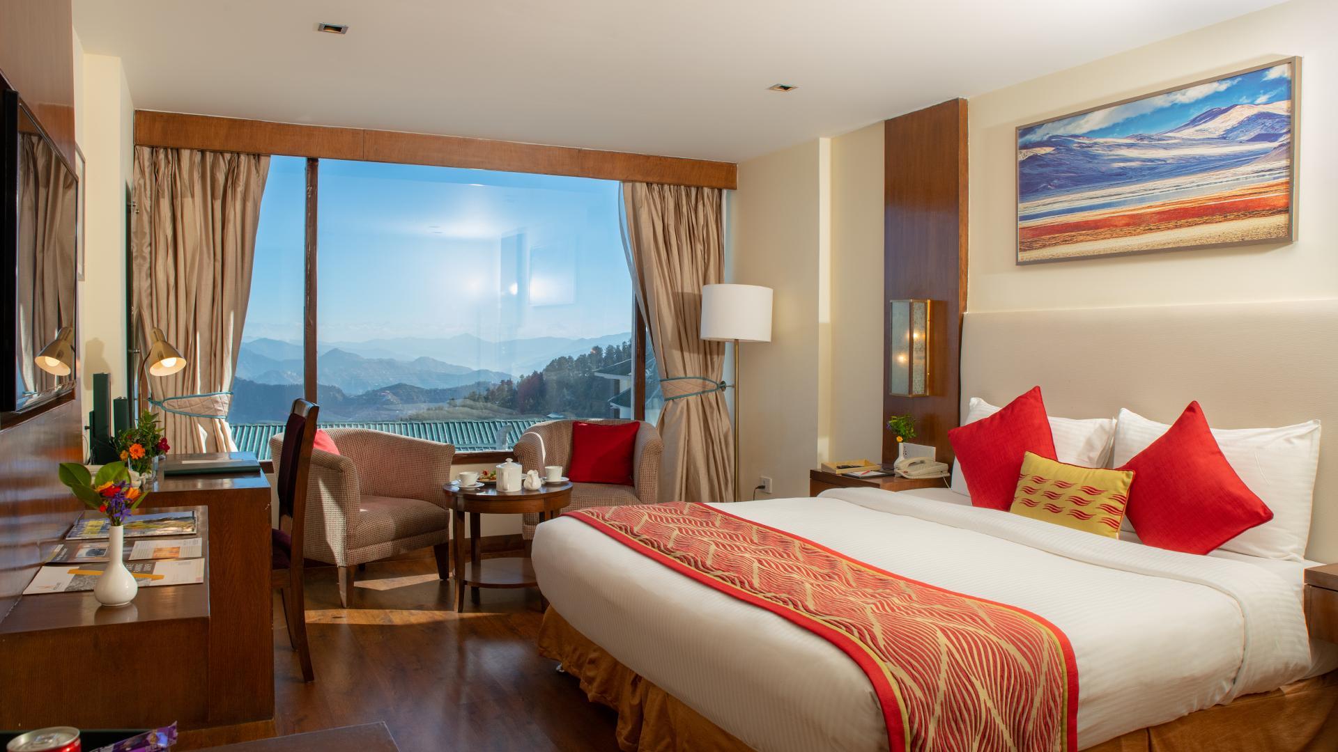 Deluxe Room image 1 at Royal Tulip Shimla, Kufri Hills by Shimla, Himachal Pradesh, India