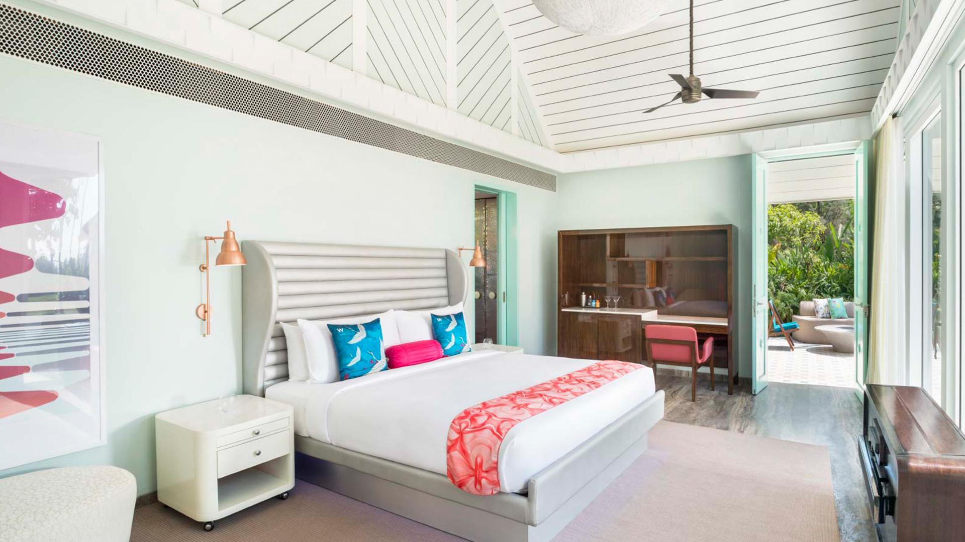 Fantastic One-Bedroom Sea View Villa image 1 at W Goa by North Goa, Goa, India