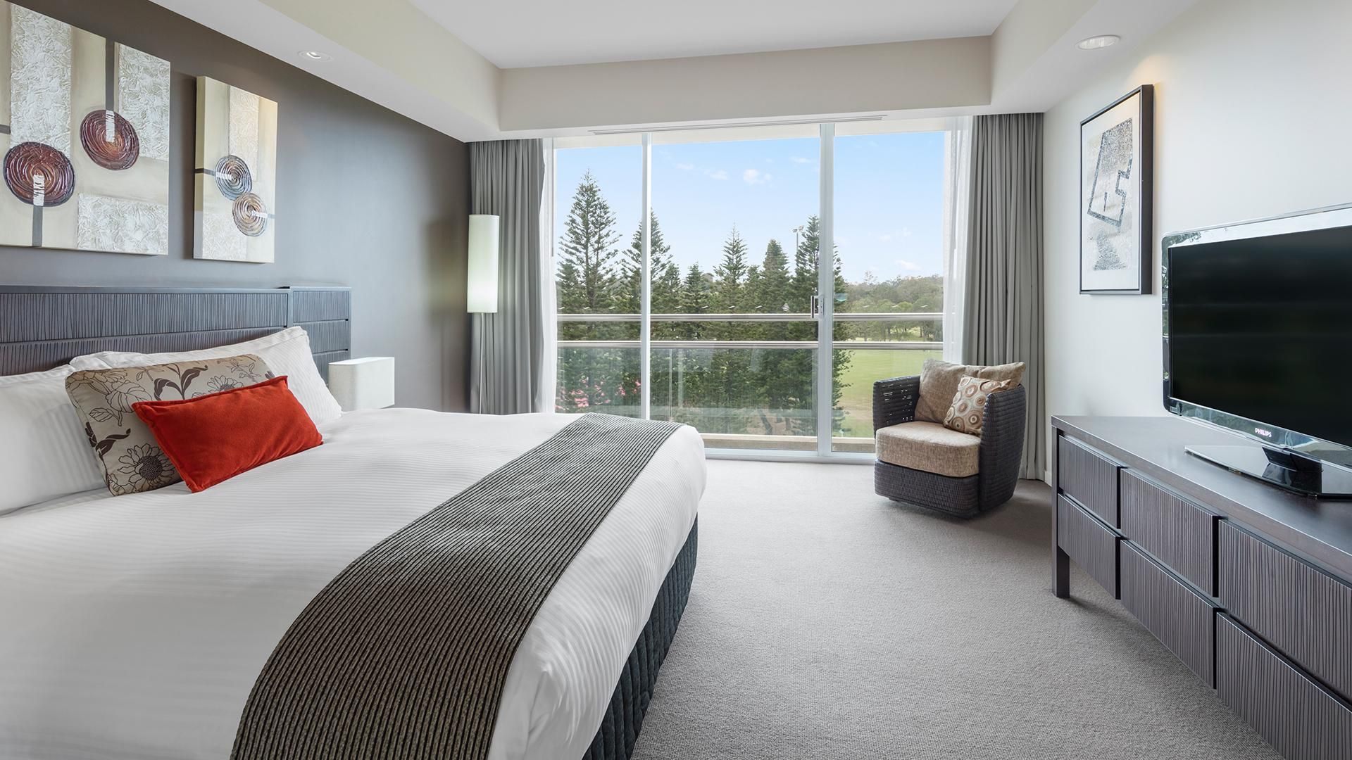 Superior King Room image 1 at RACV Royal Pines Resort by City of Gold Coast, Queensland, Australia