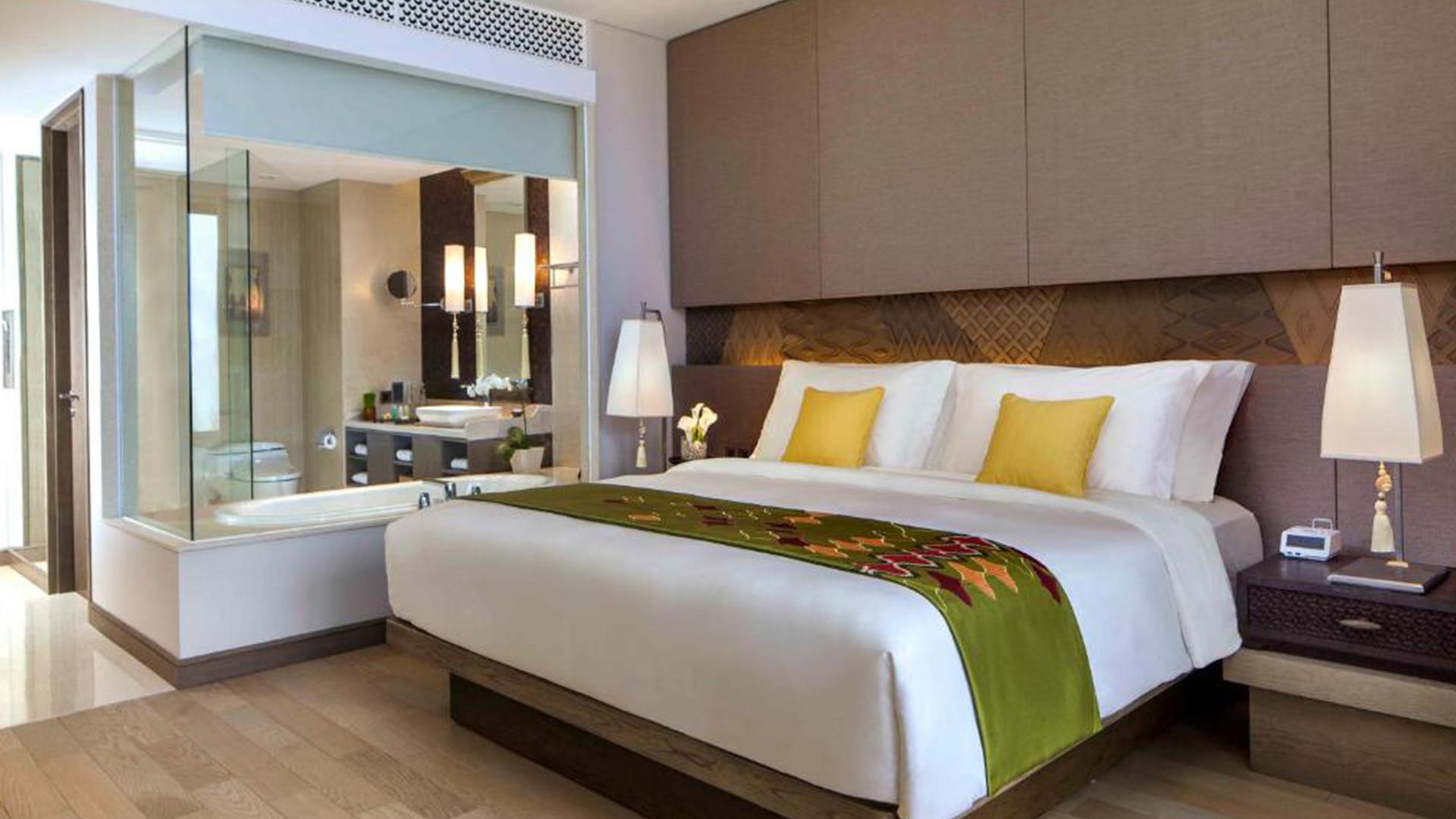 Classic Room image 1 at Mövenpick Resort & Spa Jimbaran Bali by Kabupaten Badung, Bali, Indonesia