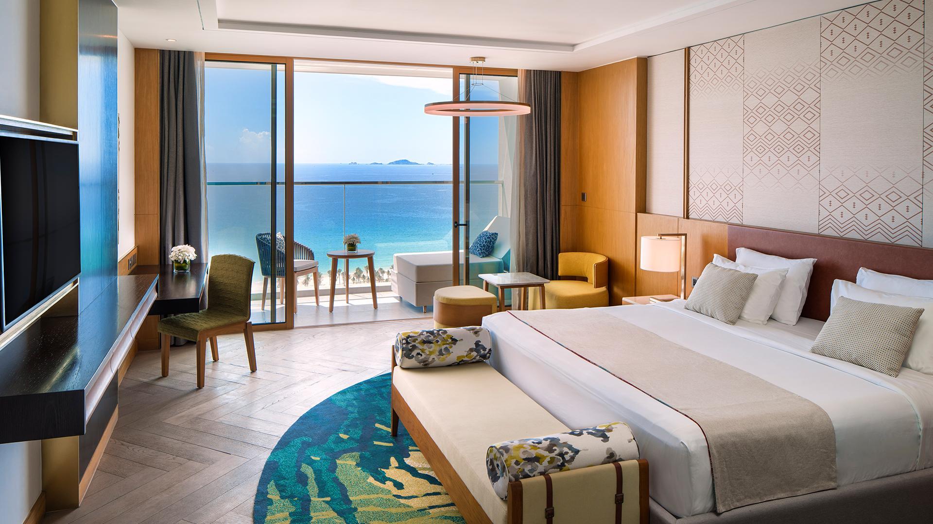 Superior Seaview Room image 1 at Mövenpick Resort Cam Ranh by Cam Lâm, Khánh Hòa, Vietnam