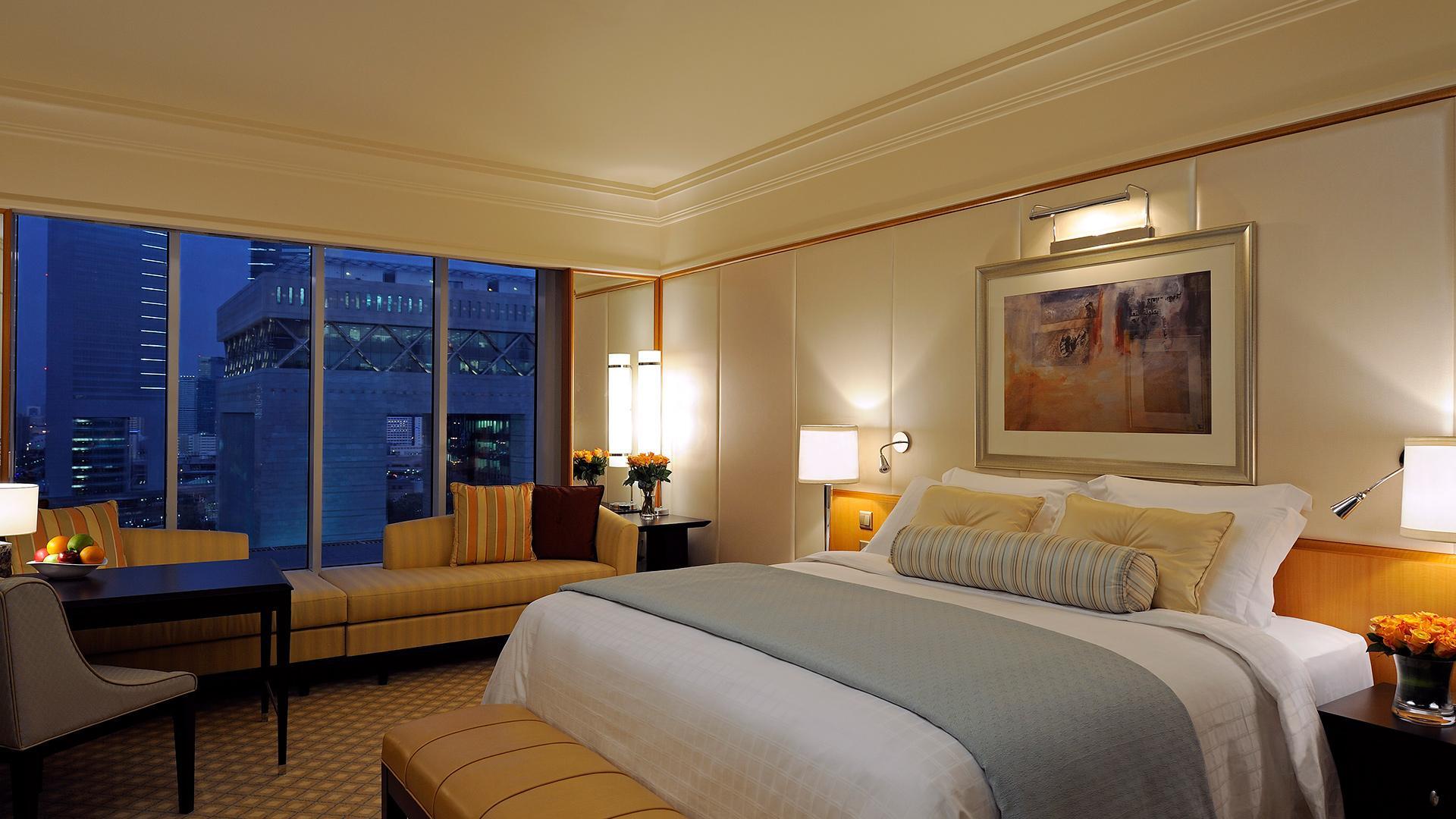 Premier Room image 1 at The Ritz-Carlton, Dubai International Financial Centre by null, Dubai, United Arab Emirates