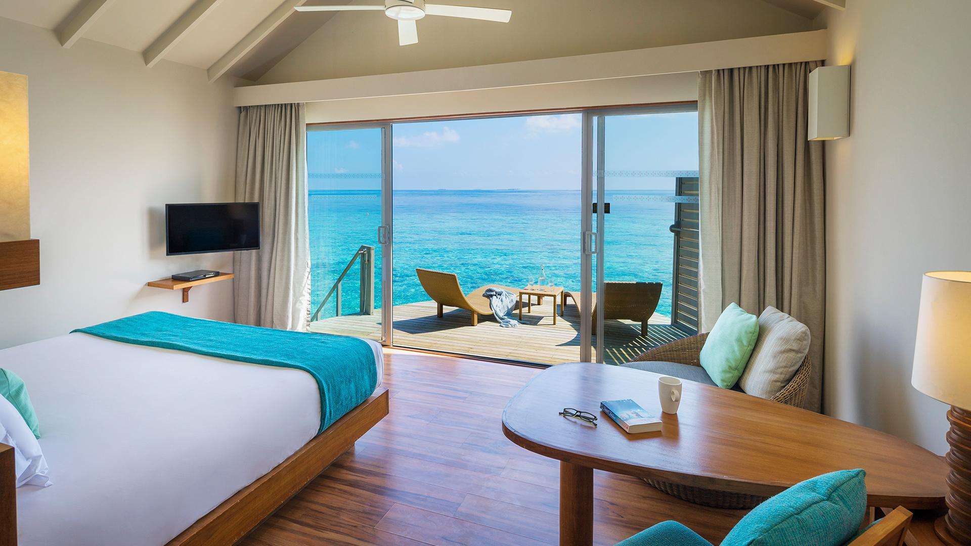 Deluxe Water Villa   image 1 at Centara Ras Fushi Resort & Spa Maldives by Kaafu Atoll, null, Maldives