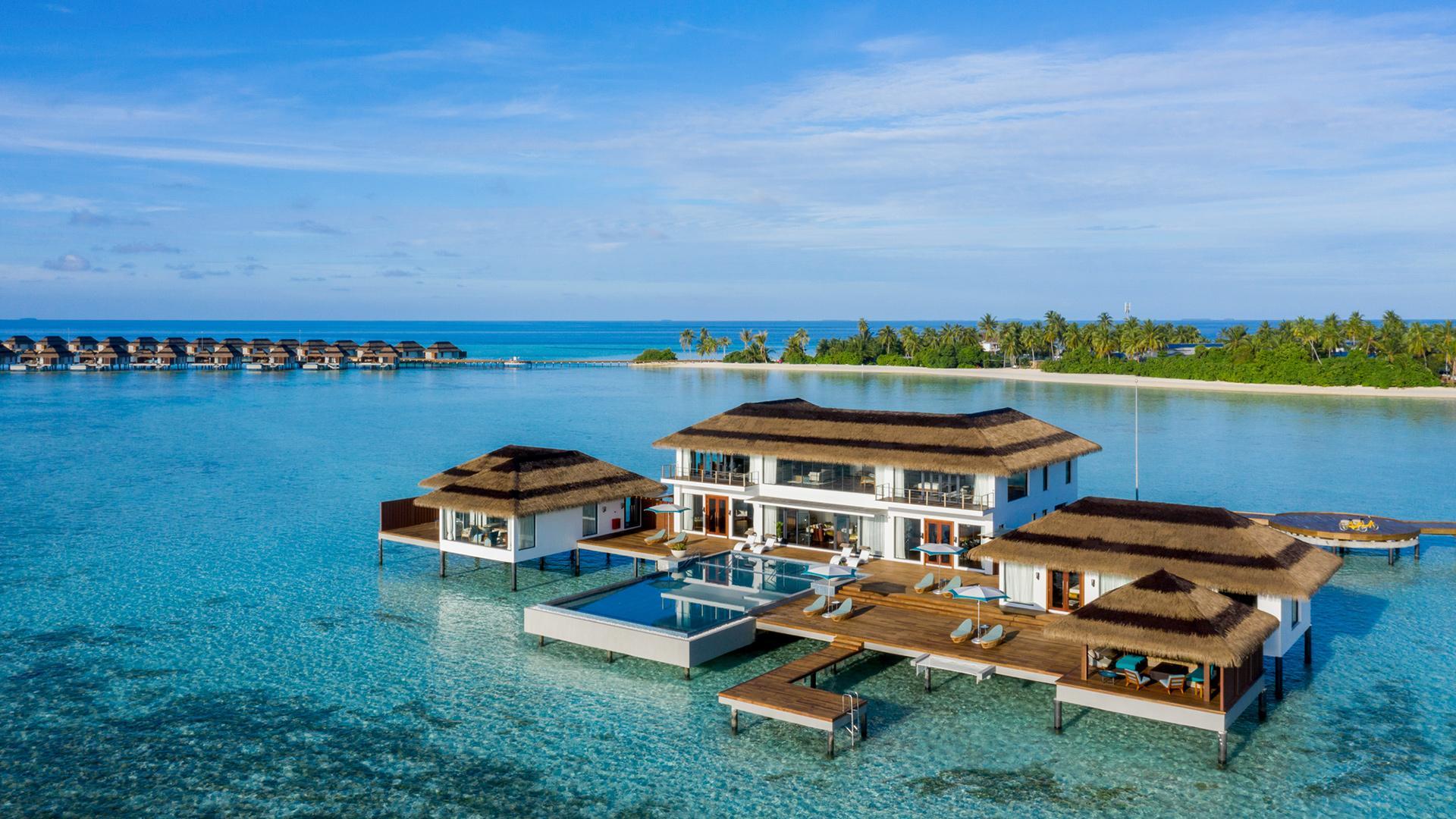 Royal Suite image 1 at Pullman Maldives Maamutaa Resort by null, Upper South Province, Maldives