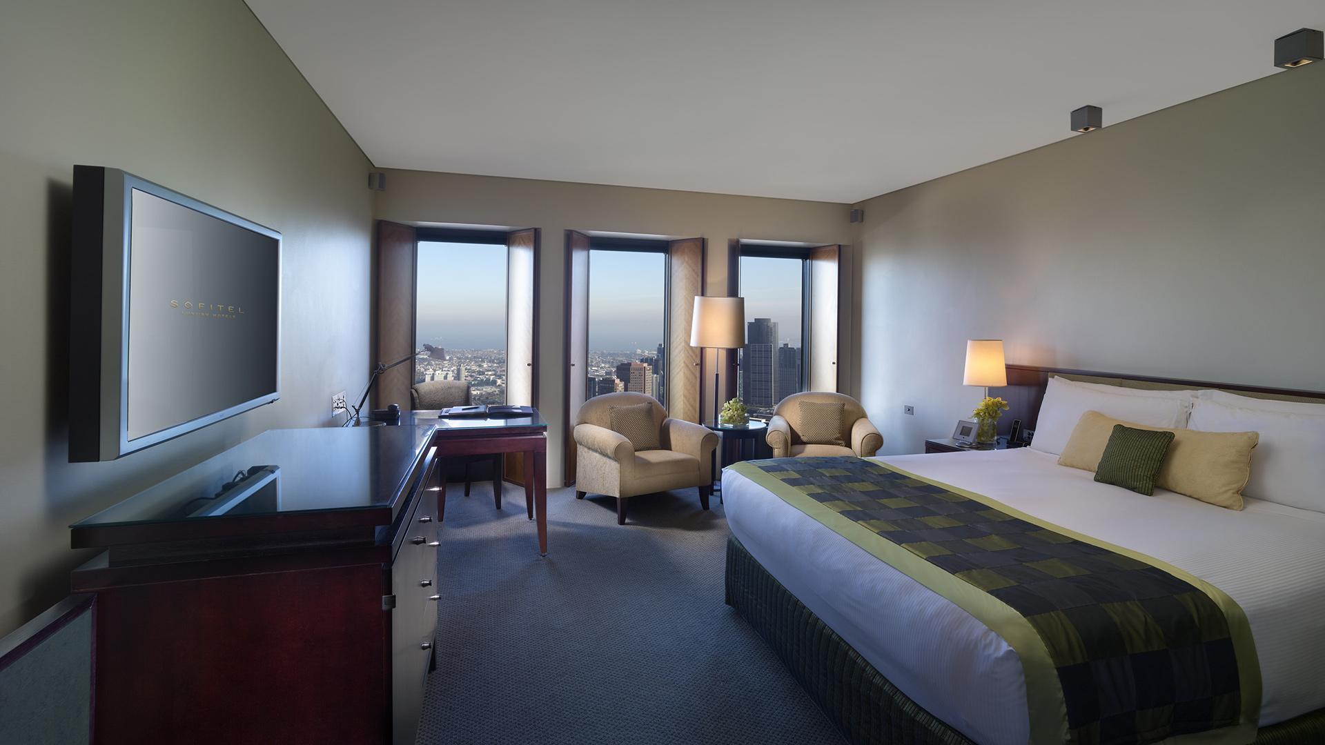Superior Room image 1 at Sofitel Melbourne on Collins by Melbourne City, Victoria, Australia