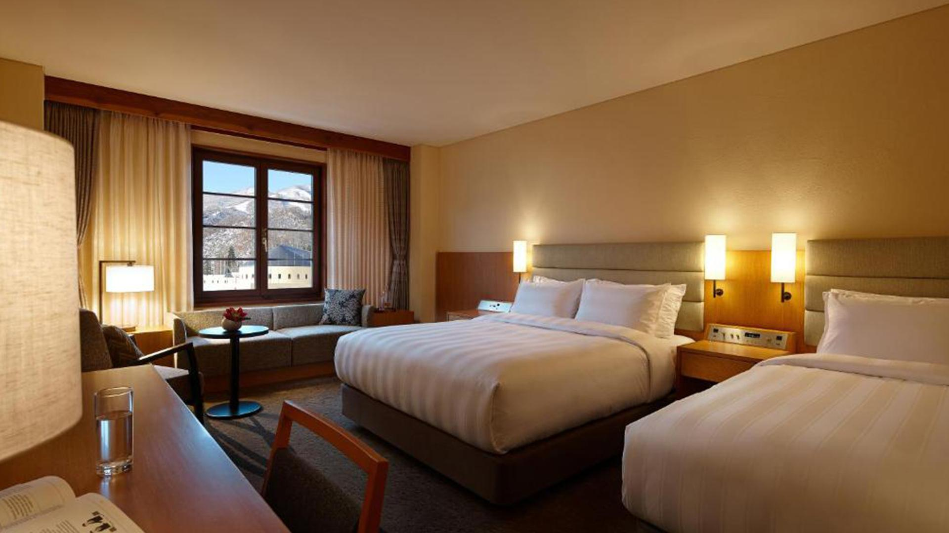 Superior Family Twin Room image 1 at Lotte Arai Resort by null, Niigata, Japan