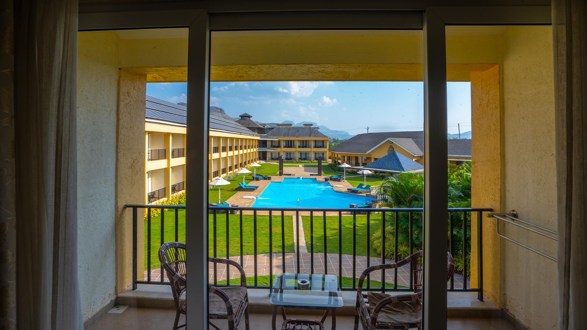 Anthurium Room image 1 at Tropical Retreat Luxury Resort & Spa by Nashik, Maharashtra, India
