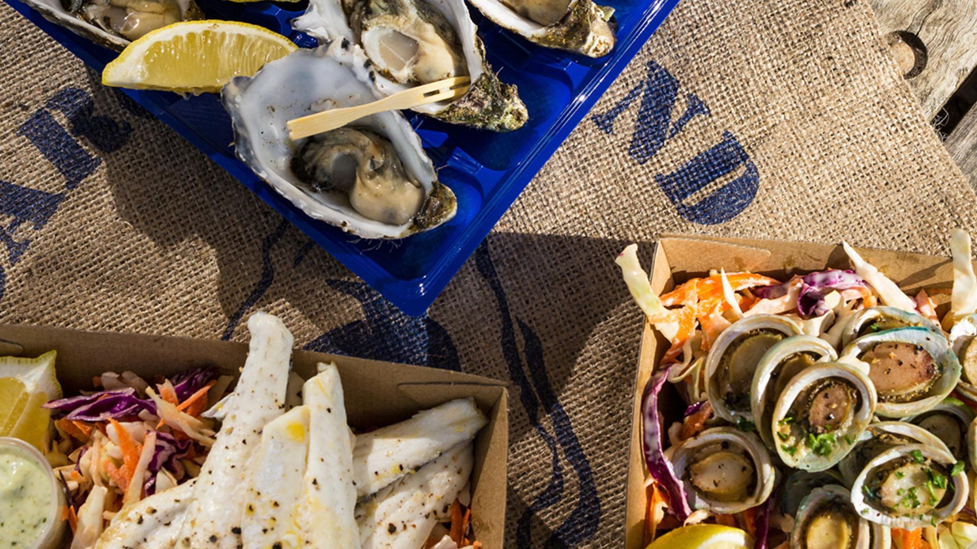 Oysters, Oyster Farm Shop