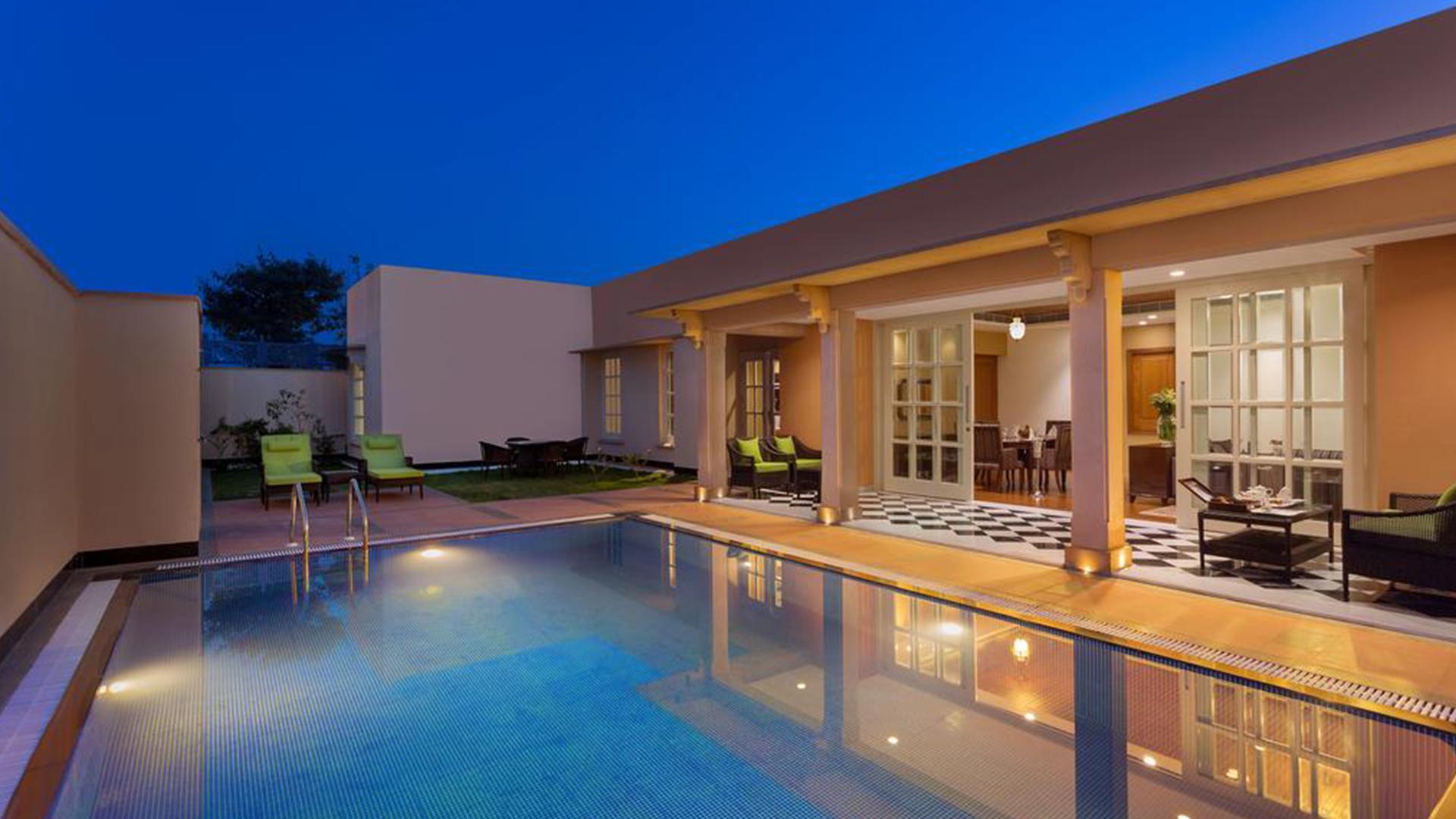 Two-Bedroom Luxury Pool Villa image 1 at Welcomhotel Jodhpur by Jodhpur, Rajasthan, India