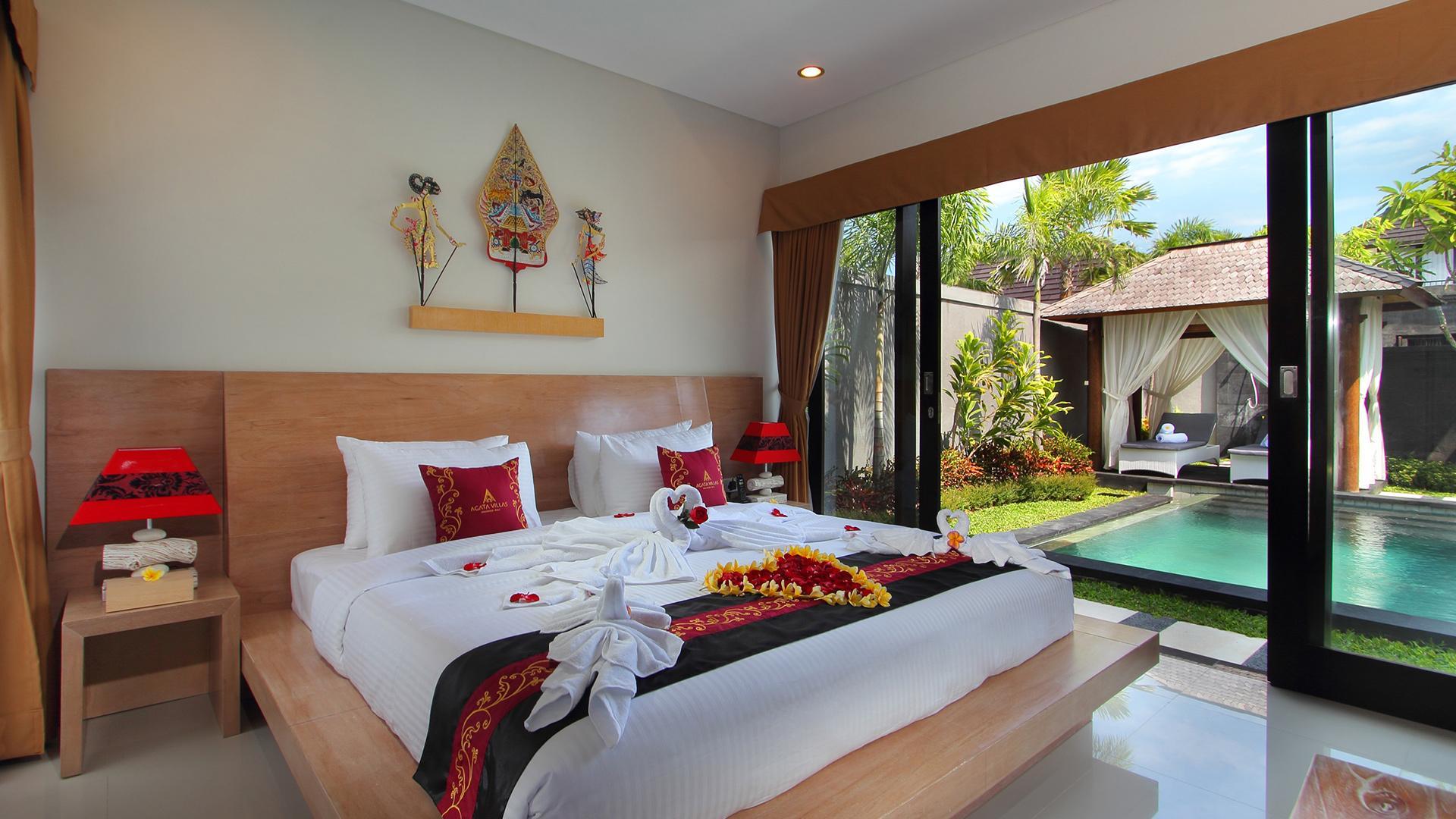 Two Bedroom Pool Villa image 1 at Agata Villas Seminyak by Kabupaten Badung, Bali, Indonesia