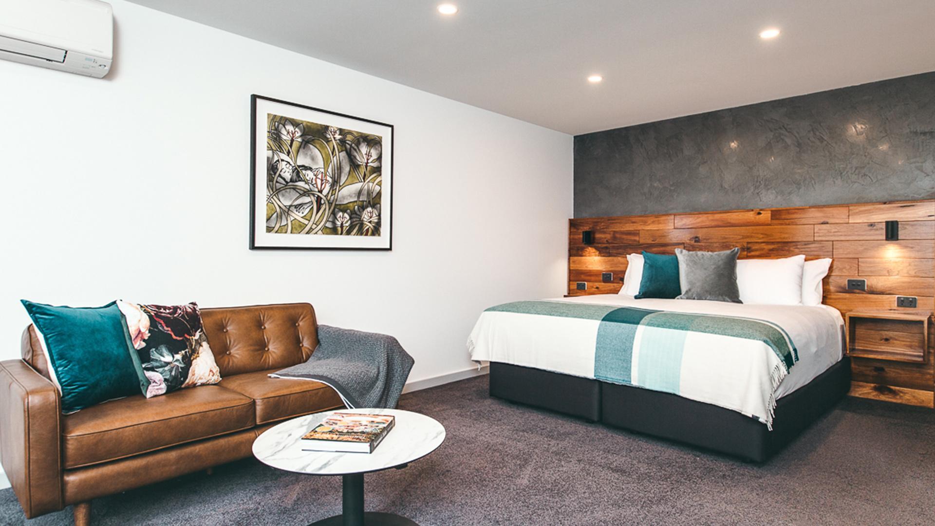 Pearce Two-Bedroom Studio image 1 at Maylands Lodge by Hobart City Council, Tasmania, Australia