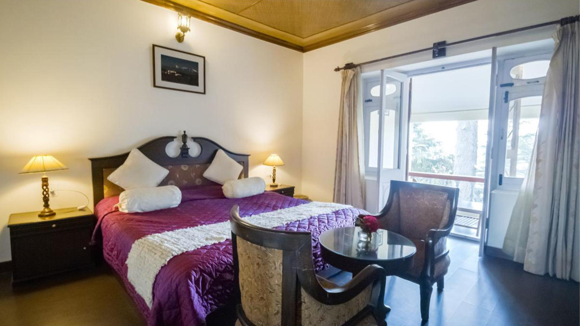 Mountain View Hideaway Room  image 1 at Tree of Life Grand Oak Manor, Binsar by null, Uttarakhand, India