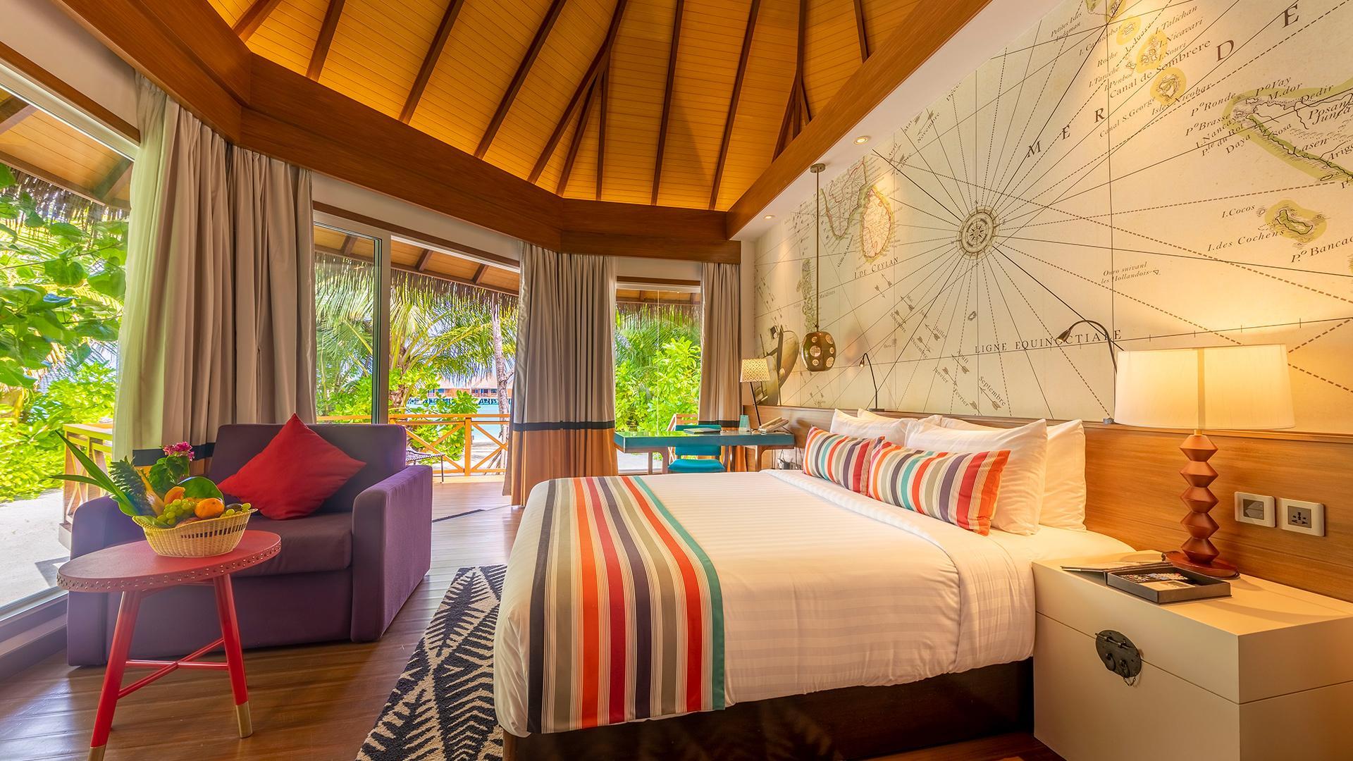 Beach Villa image 1 at Kooddoo Maldives Resort by Mercure July 2020 by Gaafu Alifu Atoll, Upper South Province, Maldives