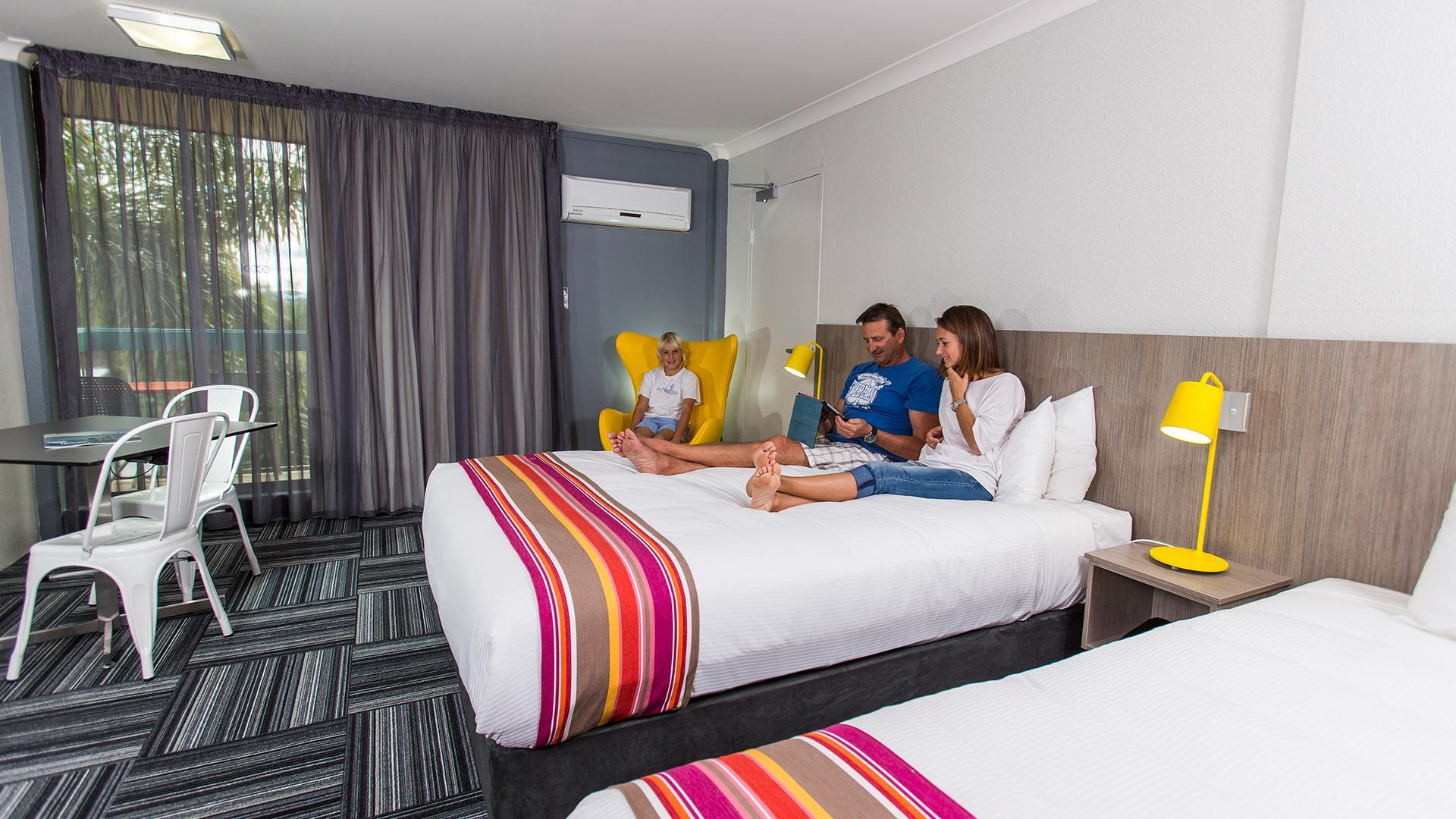 Superior Resort Room image 1 at Paradise Resort Gold Coast by City of Gold Coast, Queensland, Australia
