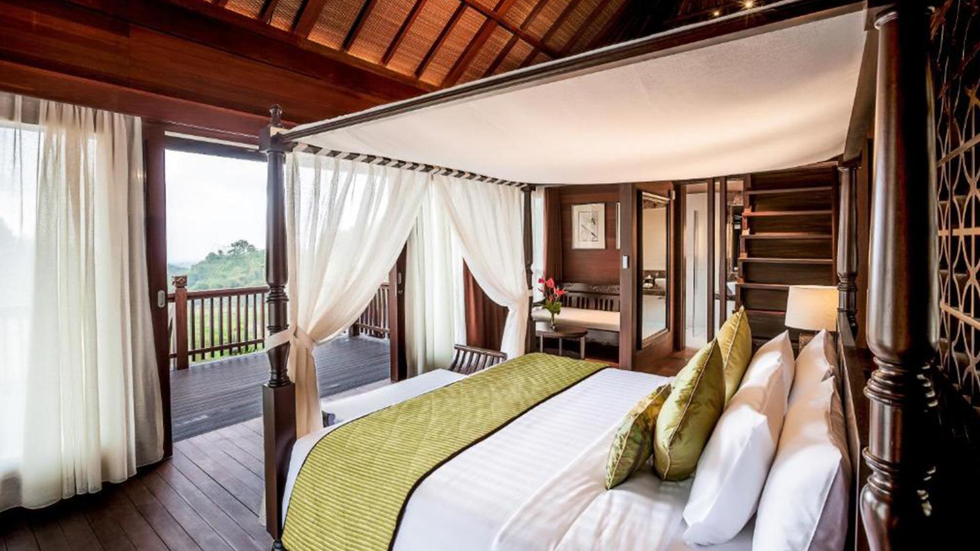 Hilltop Villa image 1 at Saranam Resort & Spa by Kabupaten Tabanan, Bali, Indonesia