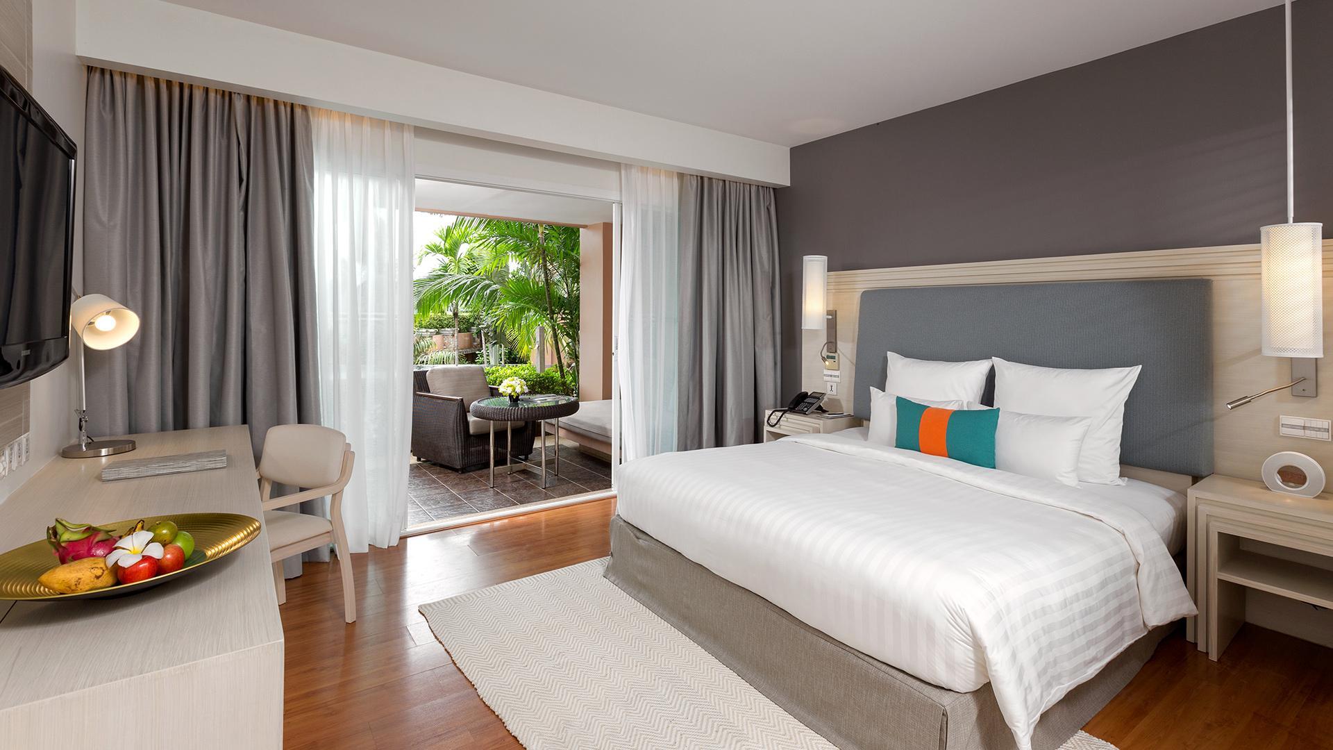 Deluxe Room image 1 at Pullman Phuket Panwa Beach Resort by Amphoe Mueang Phuket, Chang Wat Phuket, Thailand