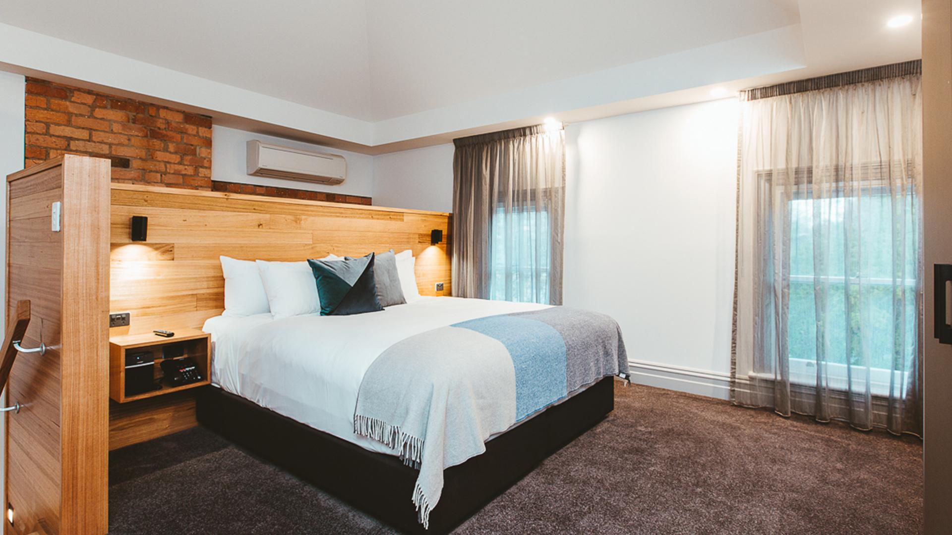 Hunter Two-Bedroom Studio image 1 at Maylands Lodge by Hobart City Council, Tasmania, Australia