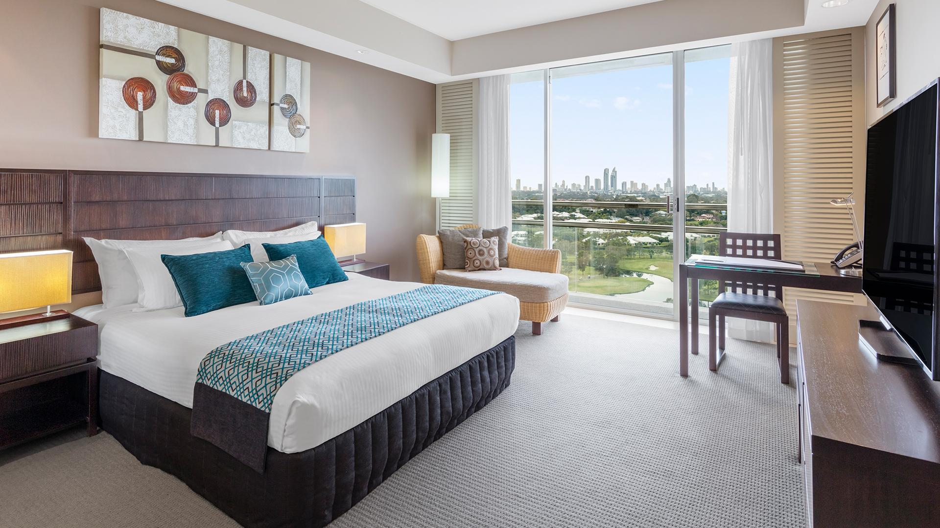 Executive King Room image 1 at RACV Royal Pines Resort by City of Gold Coast, Queensland, Australia